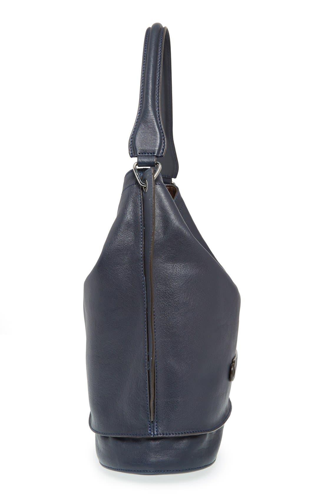 Alternate Image 5  - Longchamp '3D' Leather Hobo