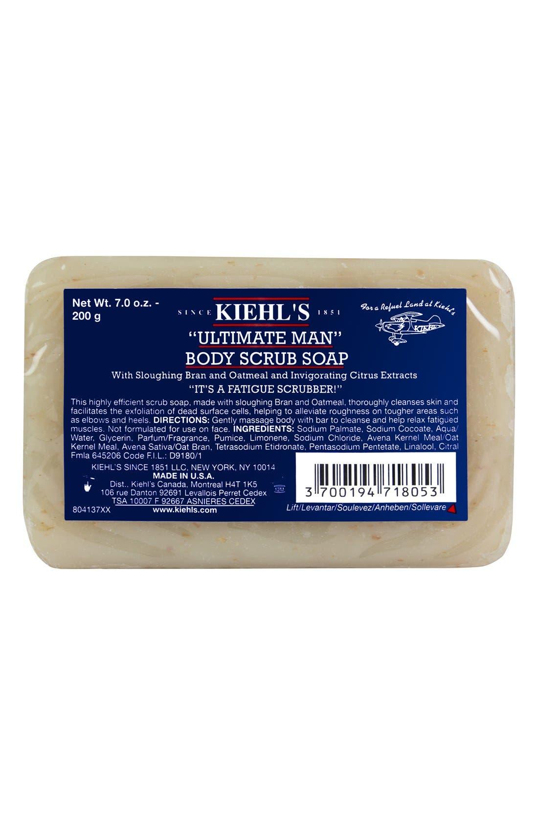 Kiehl's Since 1851 Ultimate Man Body Scrub Soap