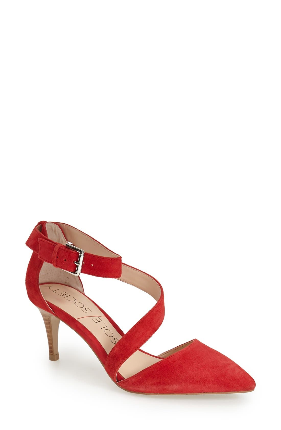Alternate Image 1 Selected - Sole Society 'Cassia' Pointy Toe Pump (Women)