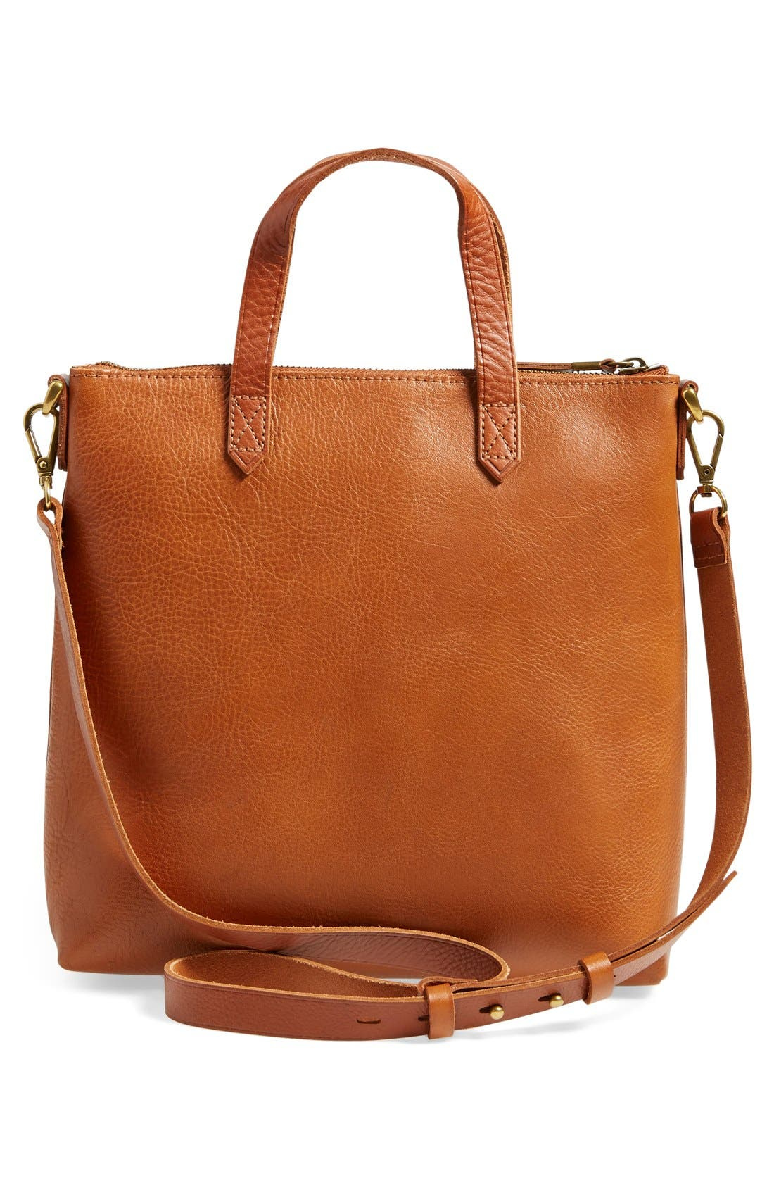 Alternate Image 3  - Madewell The Transport Leather Crossbody Bag