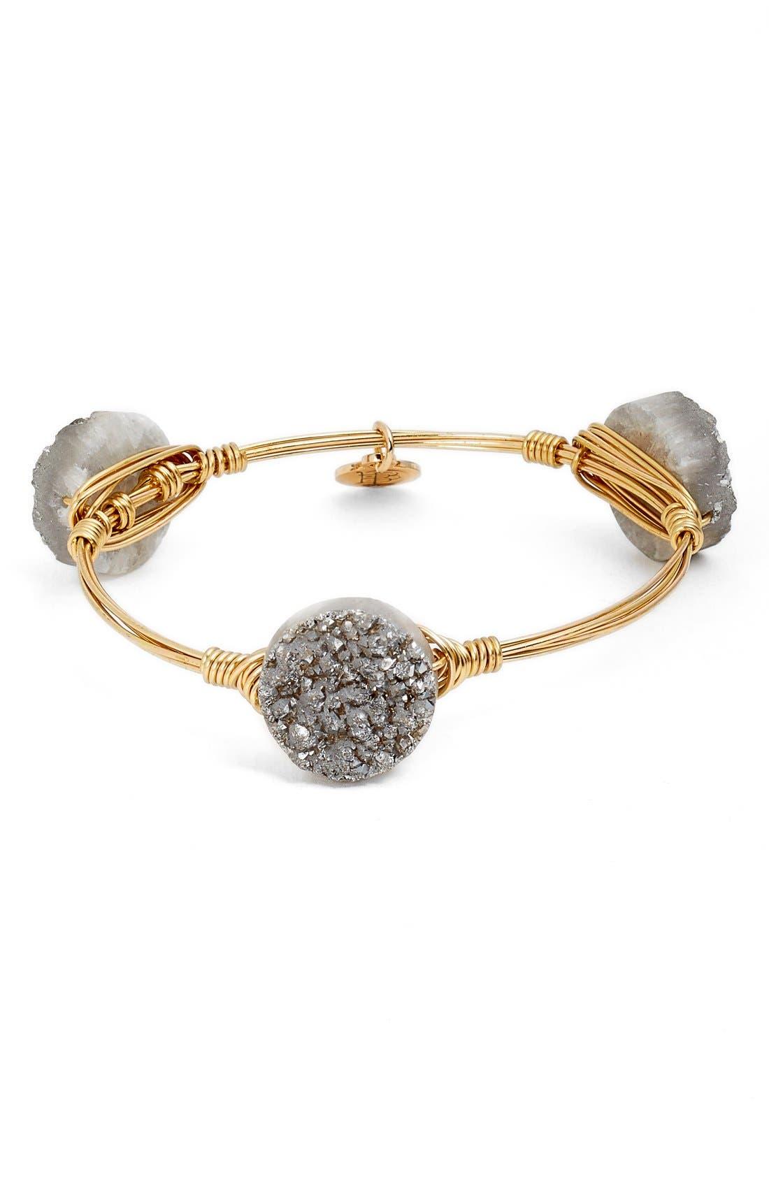 Alternate Image 1 Selected - Bourbon and Boweties Large Stone Bracelet