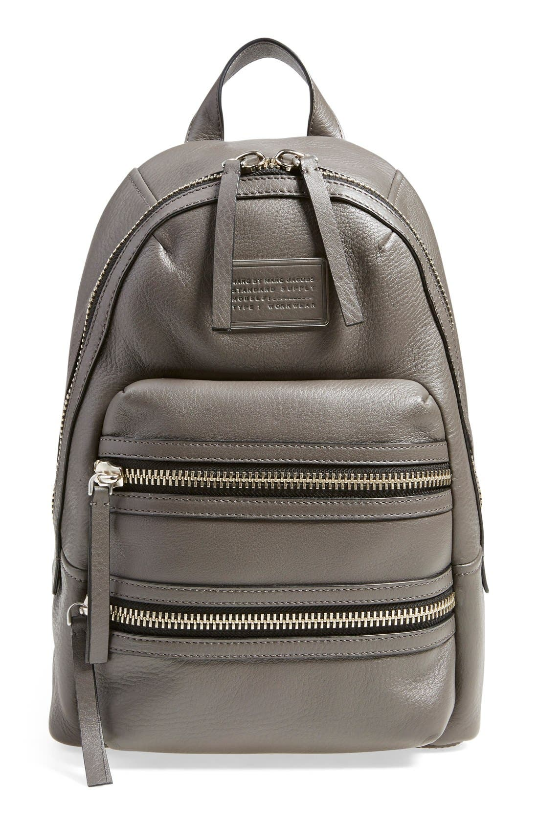 Alternate Image 1 Selected - MARC BY MARC JACOBS 'Domo Biker' Leather Backpack