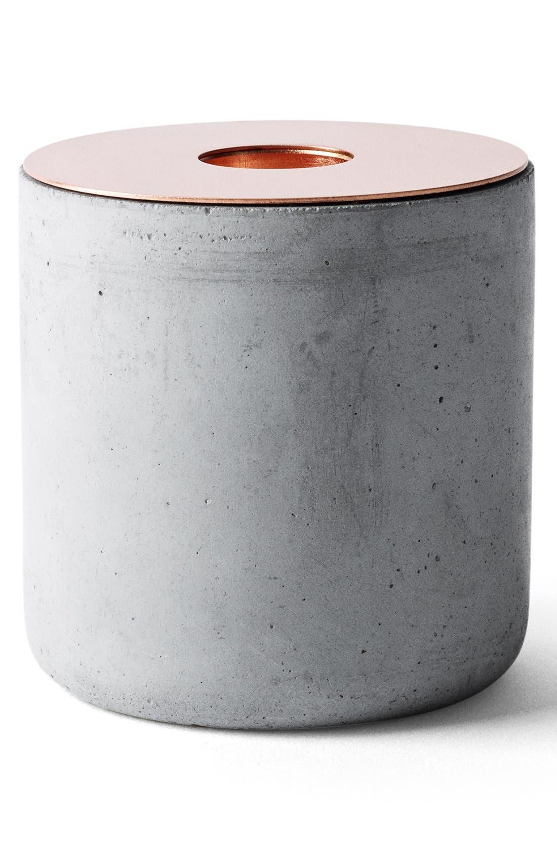 Alternate Image 2  - MENU 'Chunk of Concrete' Candlestick Holder