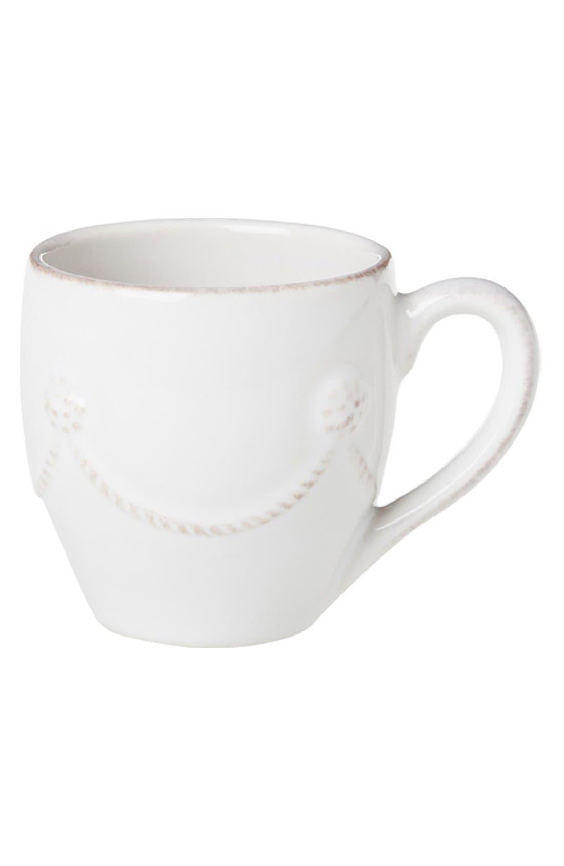 Alternate Image 1 Selected - Juliska 'Berry and Thread' Ceramic Demitasse Coffee Mug