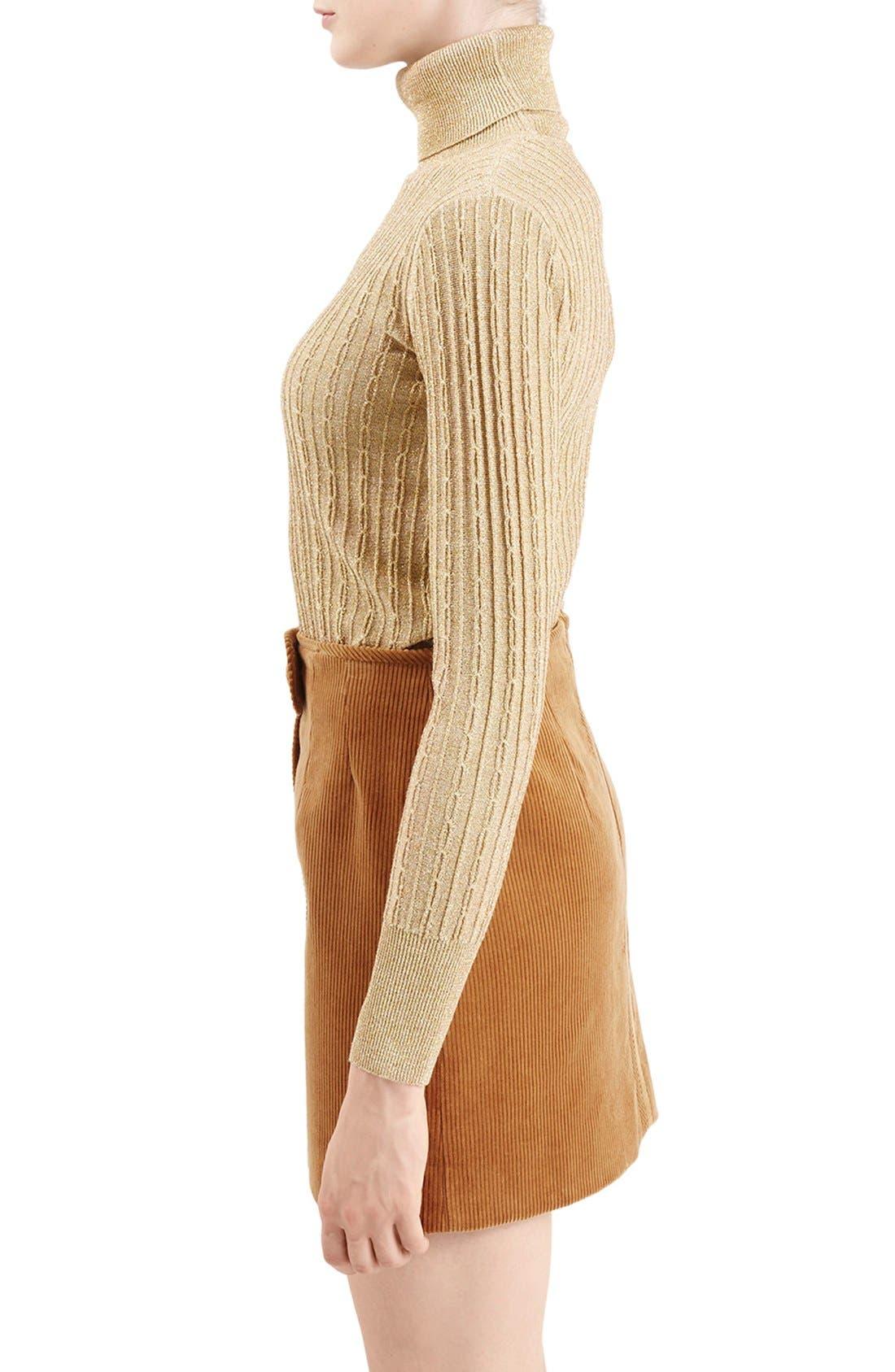Alternate Image 5  - TopshopUnique 'Huntly' Turtleneck Sweater