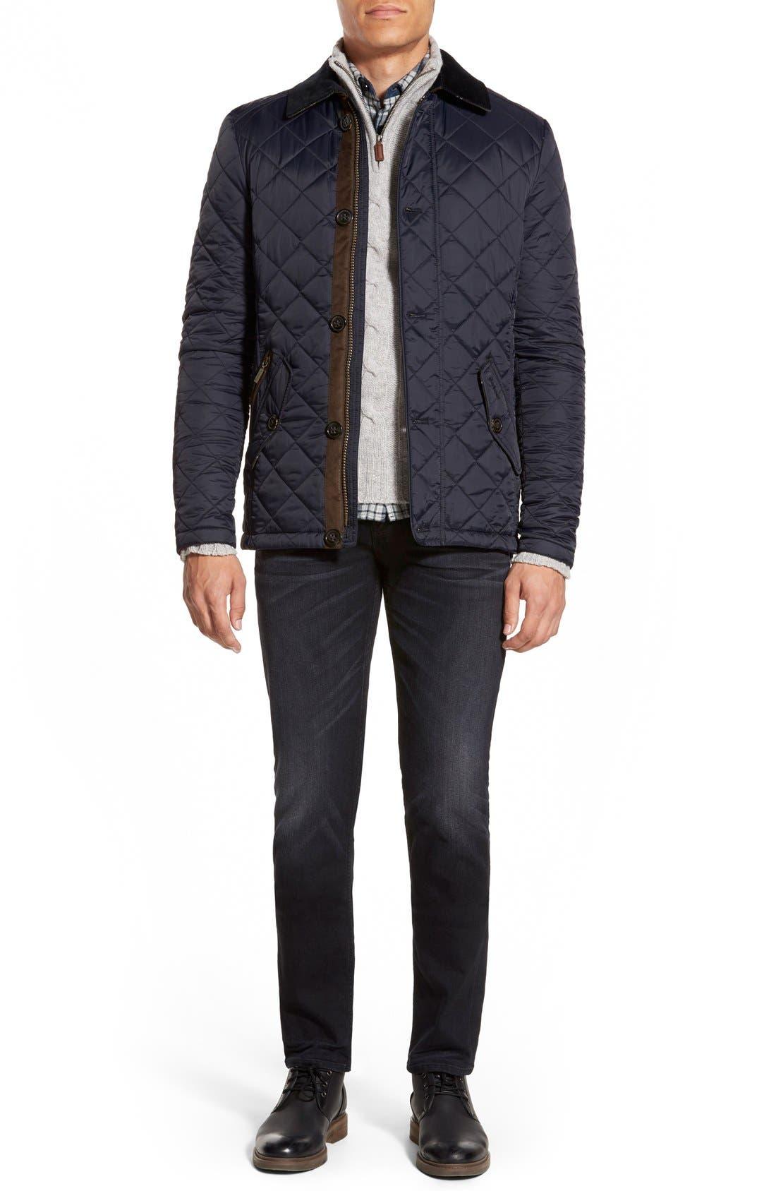 Alternate Image 6  - Barbour 'Fortnum' Regular Fit Quilted Jacket
