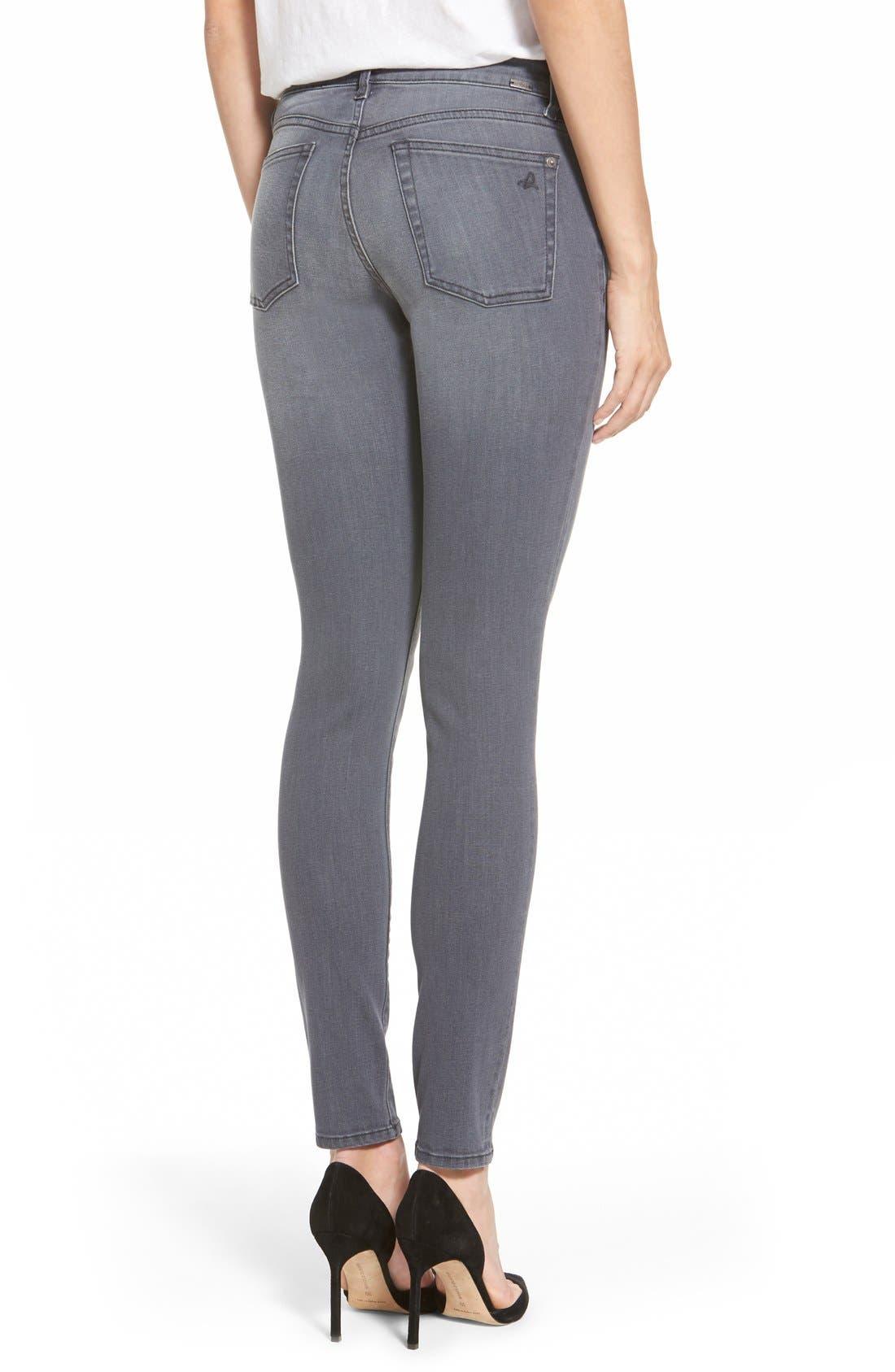 Alternate Image 2  - DL1961 'Florence' Instasculpt Skinny Jeans (Craft)