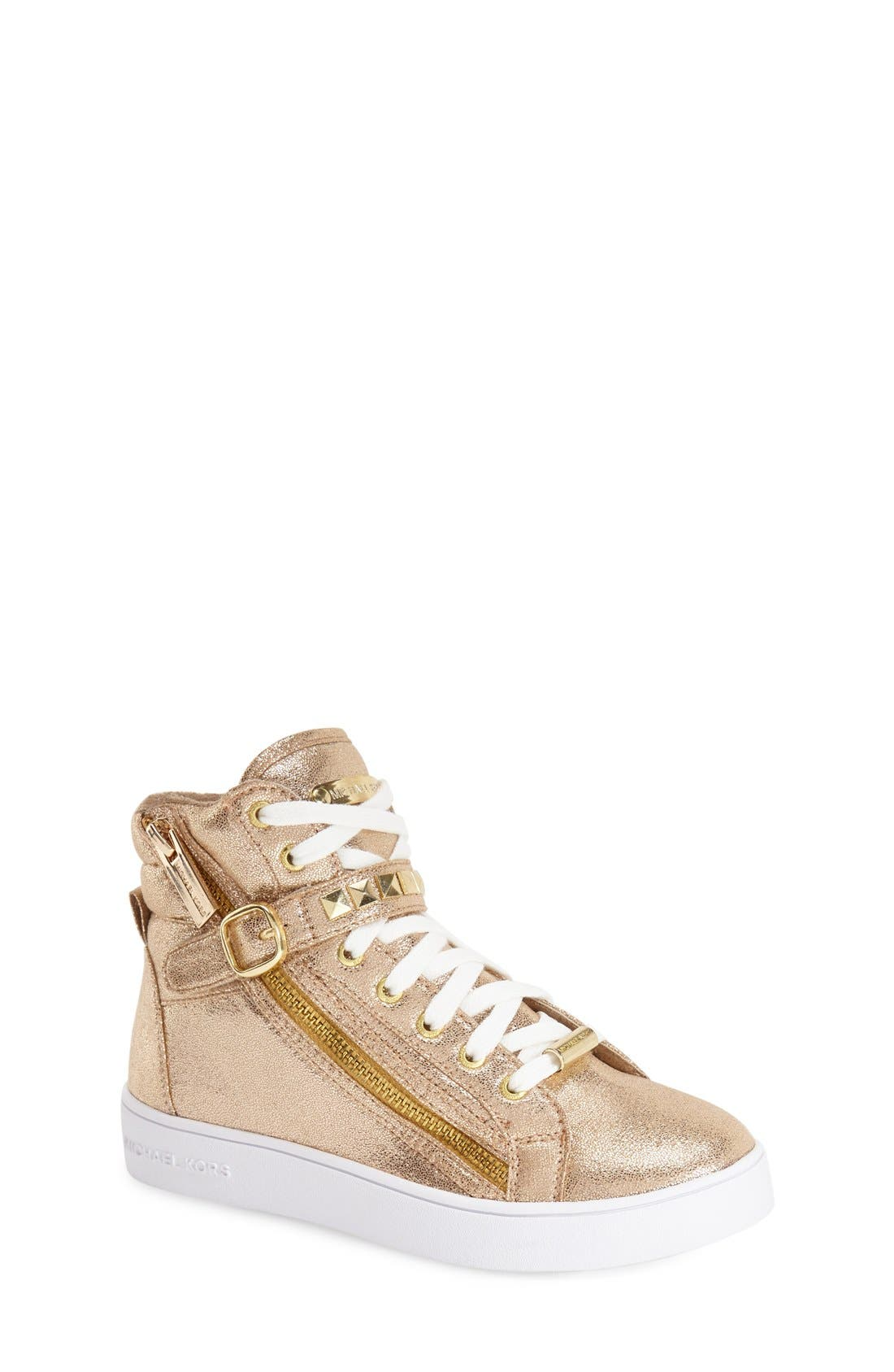 MICHAEL Michael Kors 'Ivy Rory' High Top Sneaker (Walker, Toddler, Little Kid & Big Kid)