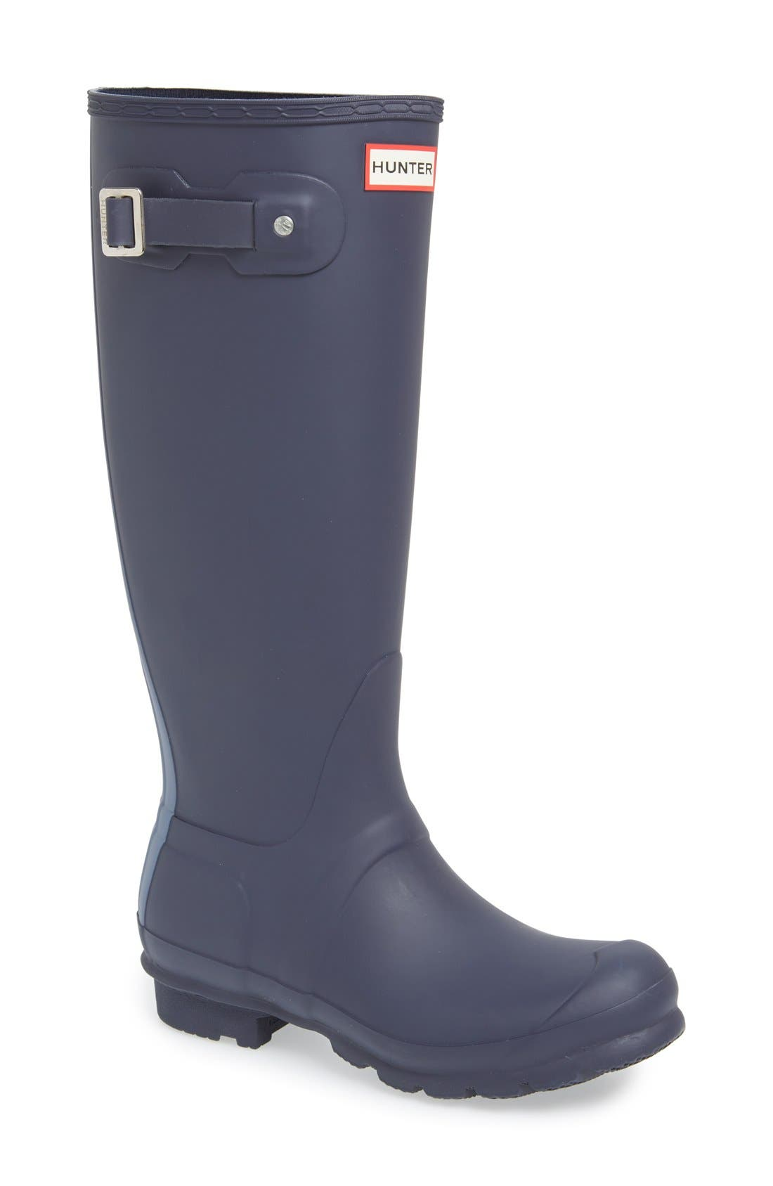 Alternate Image 1 Selected - Hunter 'Original Stripe' Waterproof Rubber Boot (Women)