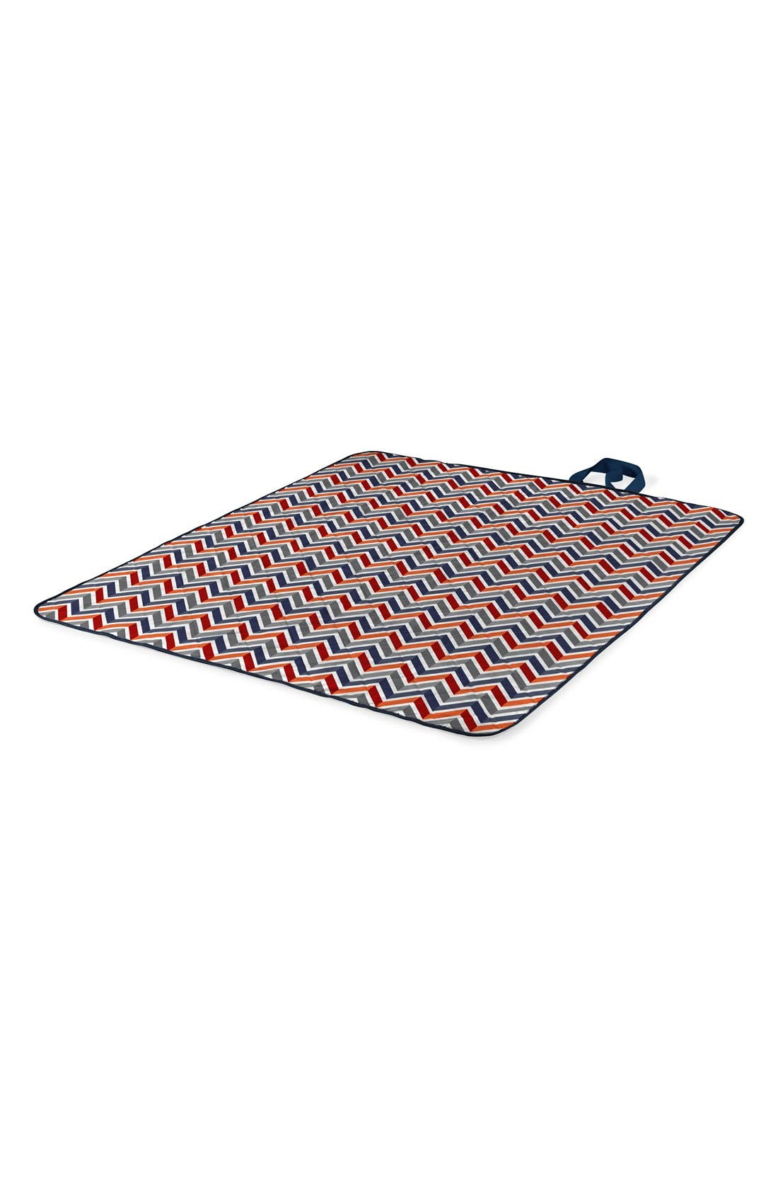 'Vista' Packable Picnic Blanket,                             Alternate thumbnail 3, color,                             Vibe