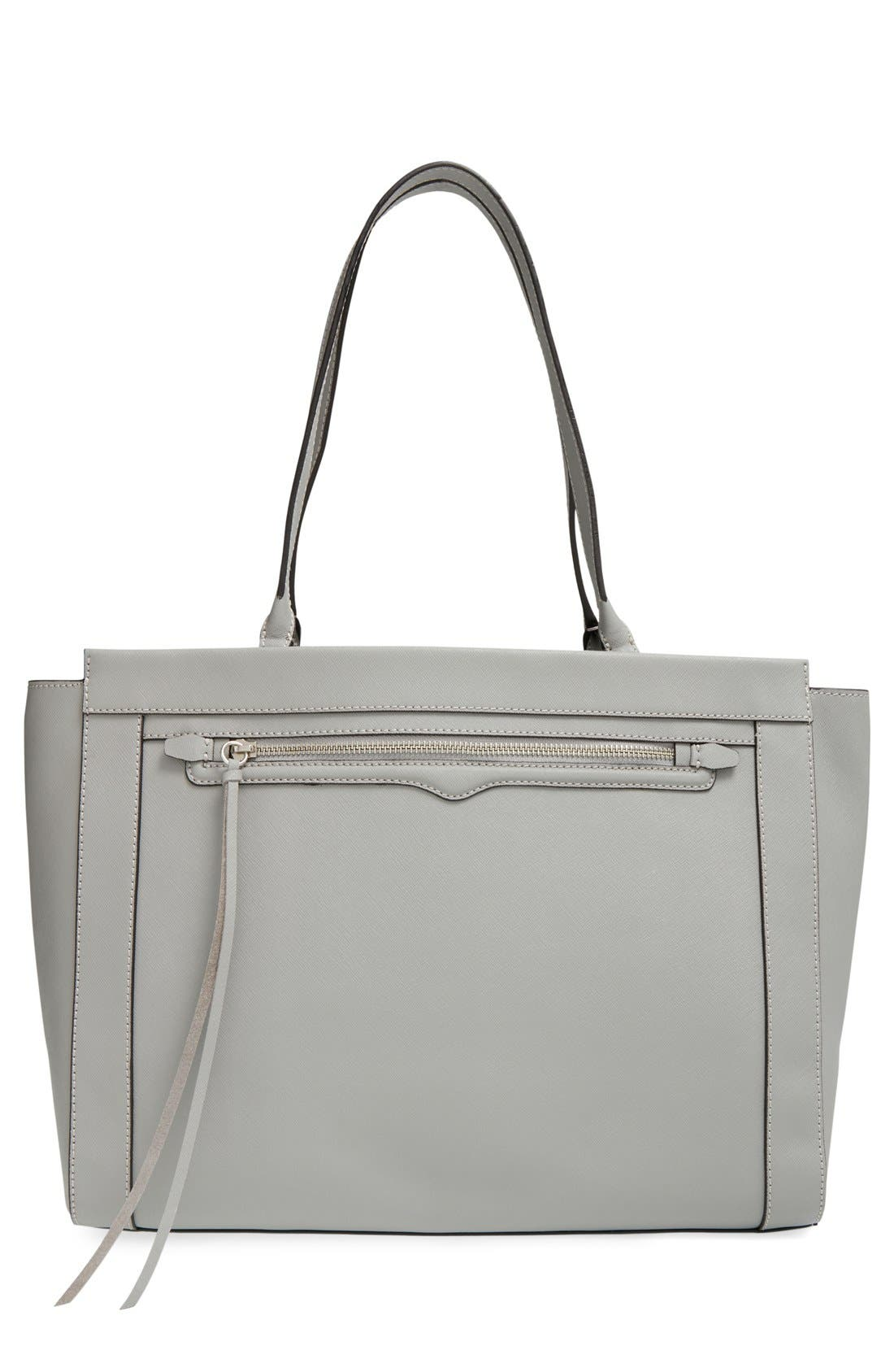 'Monroe' Tote,                         Main,                         color, Charcoal/ Silvrt