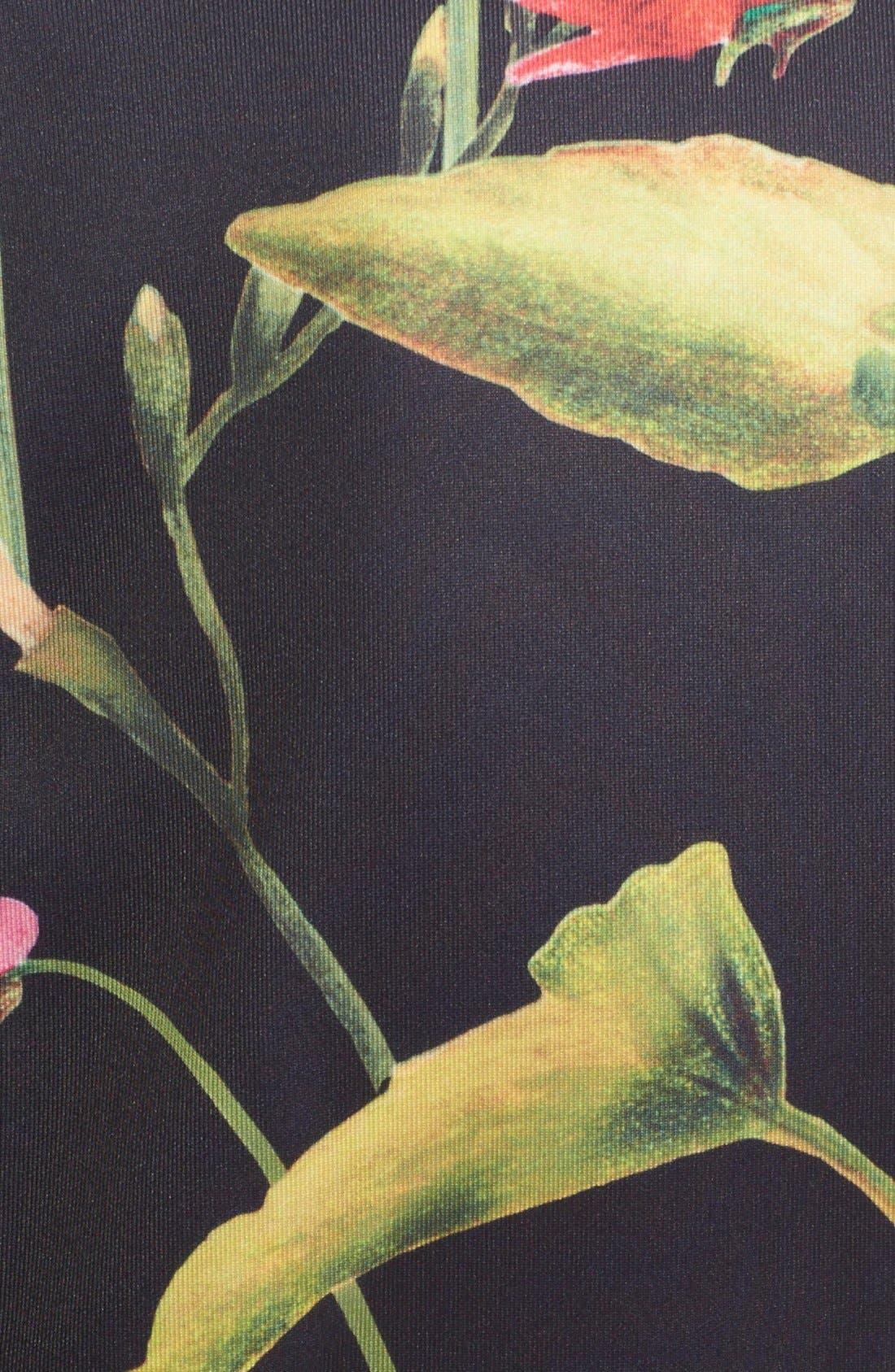 Alternate Image 5  - Ted Baker London 'Moven' Floral PrintSkater Dress