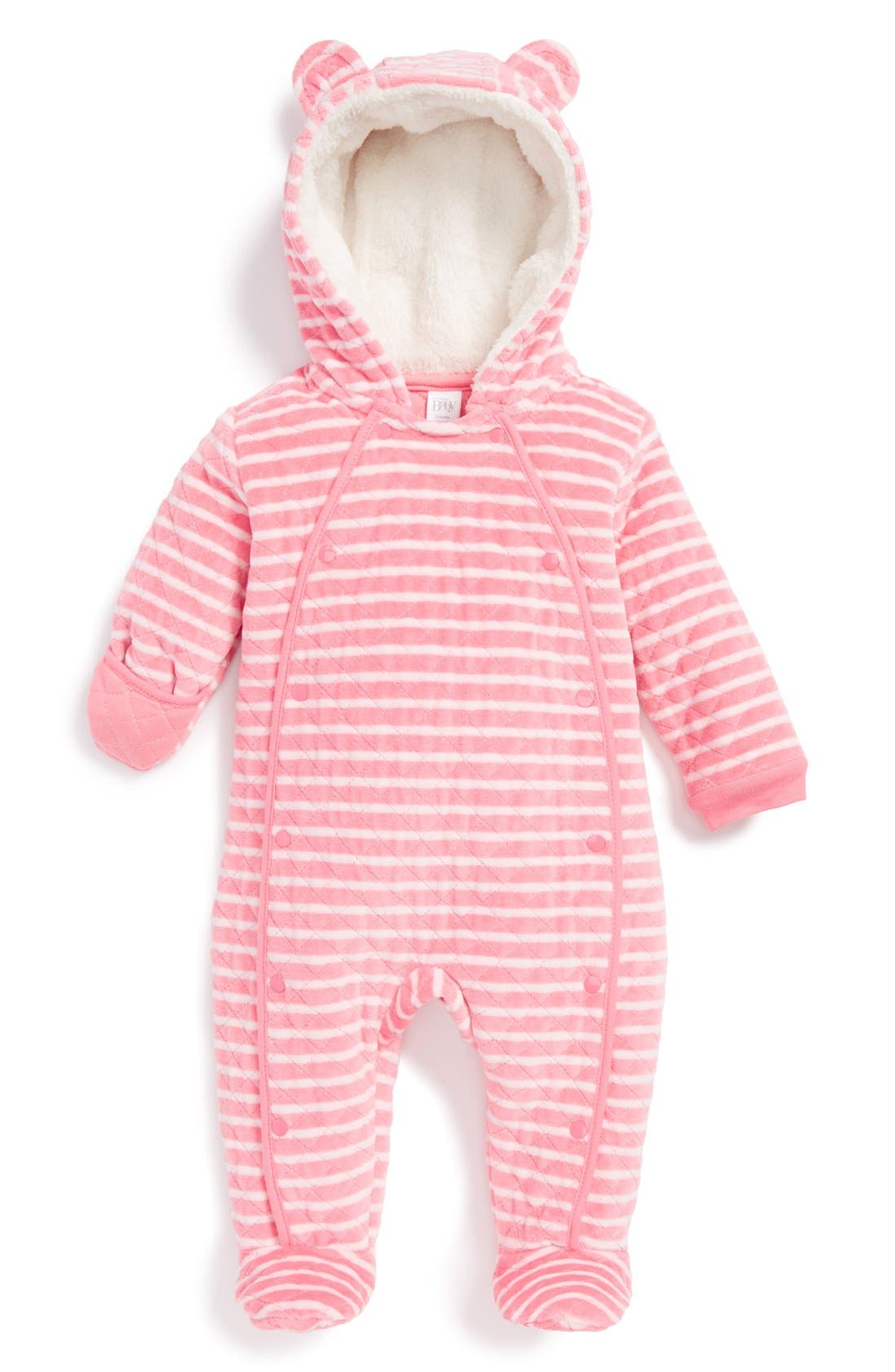 Alternate Image 1 Selected - Nordstrom Baby Hooded Bunting (Baby)