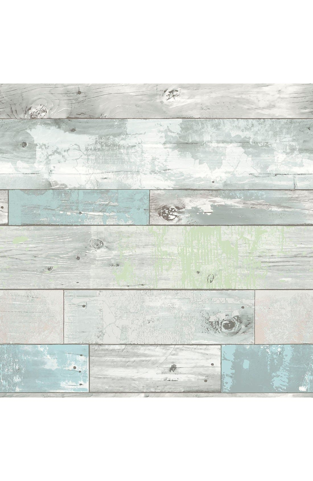 'Beachwood'  Peel & Stick Vinyl Wallpaper,                             Main thumbnail 1, color,                             Grey
