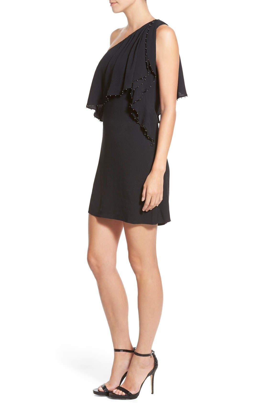 Alternate Image 3  - Ella Moss 'Stella' One Shoulder Crepe Dress