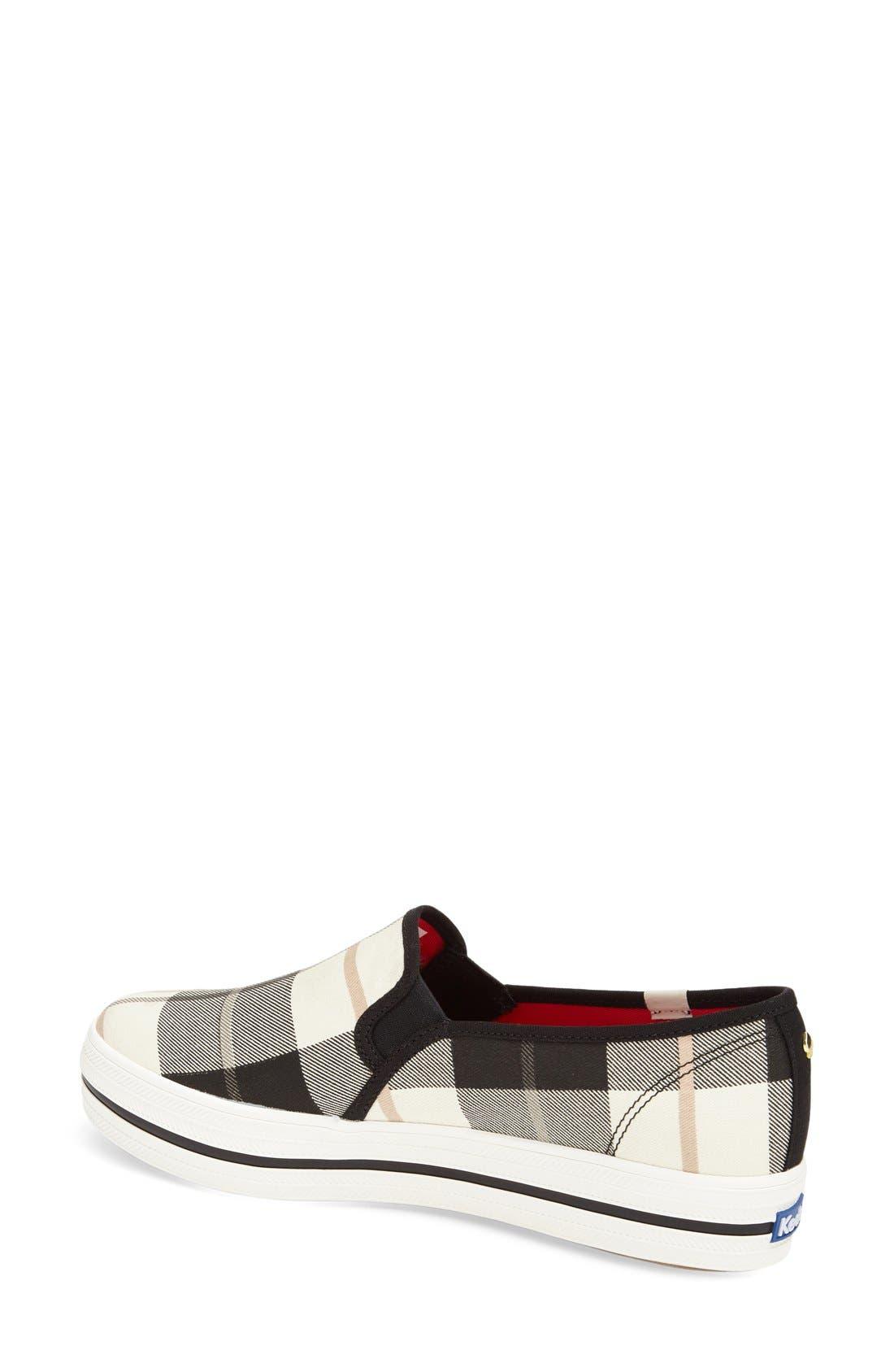 Alternate Image 2  - Keds® for kate spade new york 'decker' slip-on sneaker (Women)