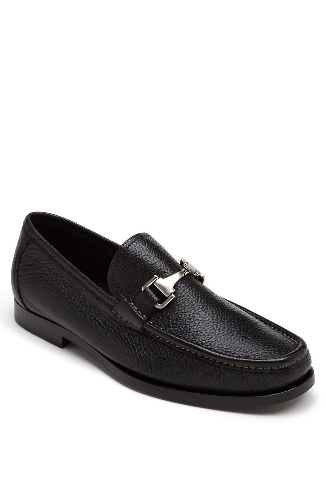 'Firenze' Bit Loafer,                         Main,                         color, Black