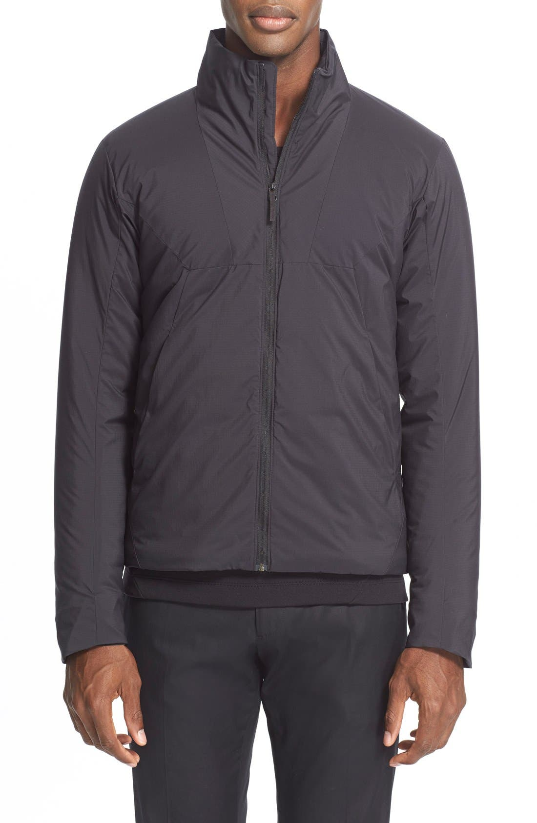 'Mionn IS' Water Resistant Jacket,                         Main,                         color, Black