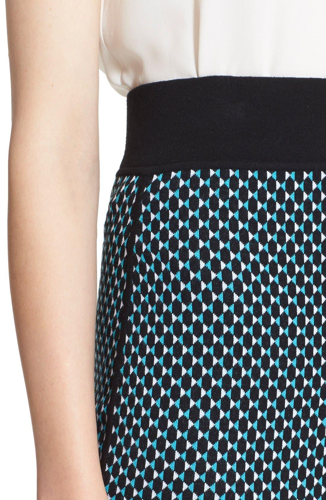 Alternate Image 5  - Michael KorsDiamond Jacquard Pencil Skirt