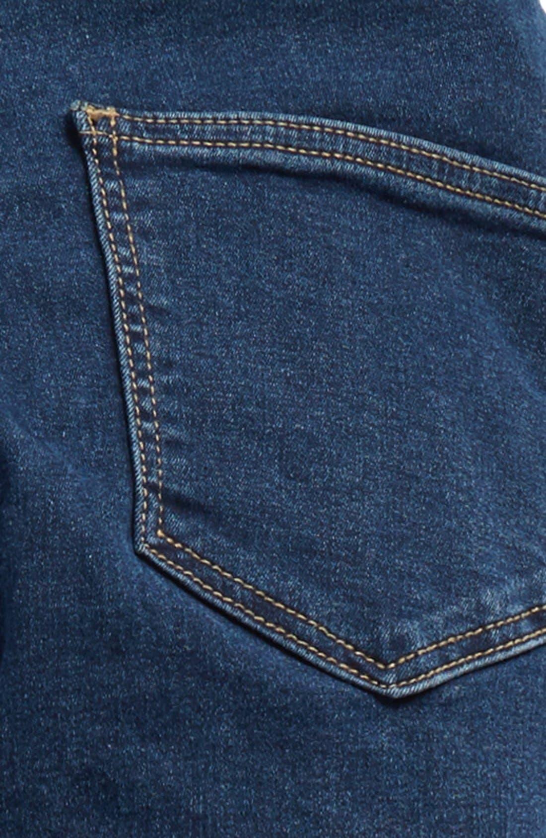 Alternate Image 6  - Topshop Moto'Joni' Ripped High Rise Skinny Jeans (Regular & Short)