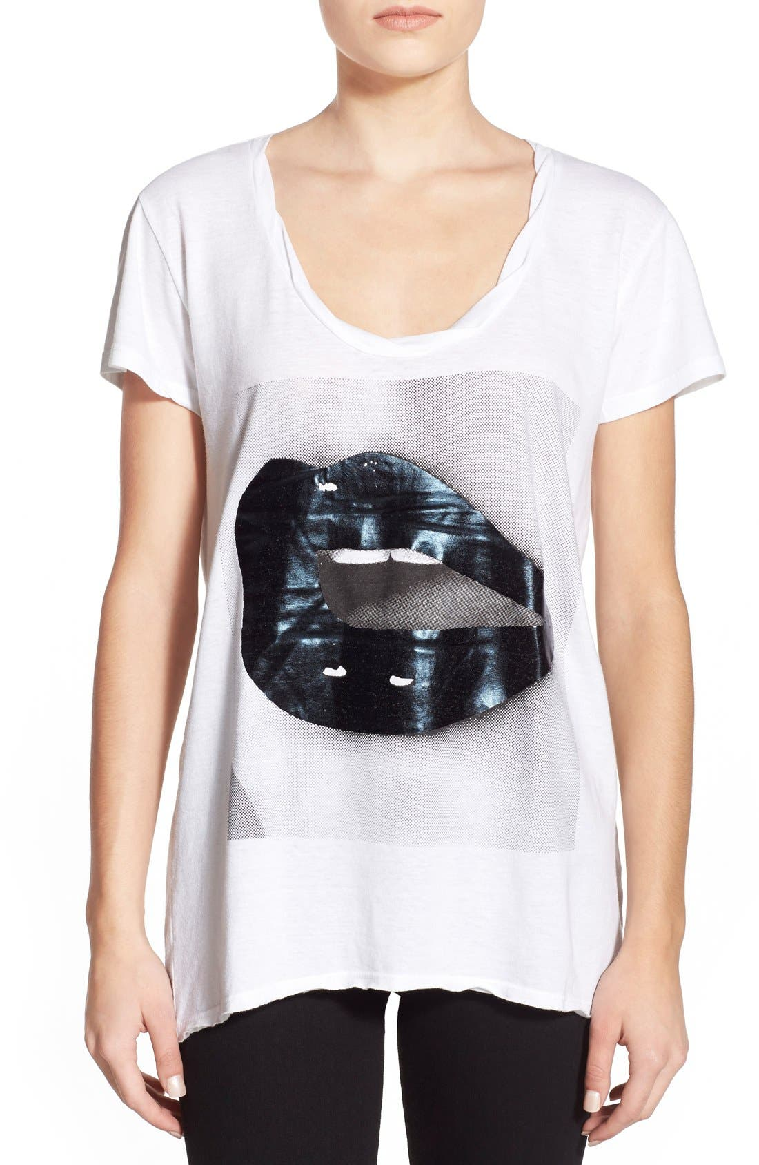 Alternate Image 1 Selected - Pam & Gela 'Sophie' Graphic Tee