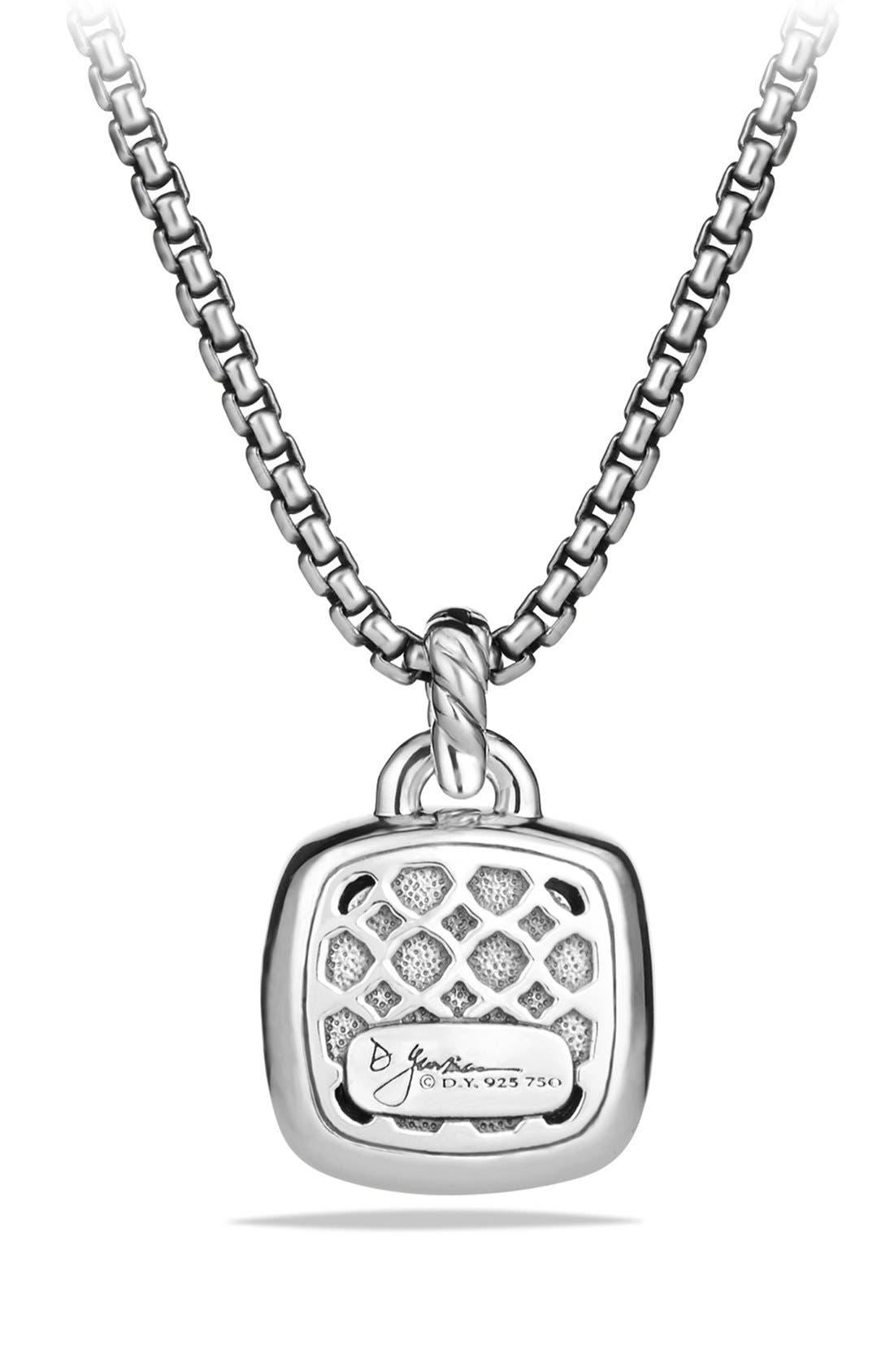 'Albion' Pendant with Diamonds and 18K Gold,                             Alternate thumbnail 2, color,                             Smokey Quartz