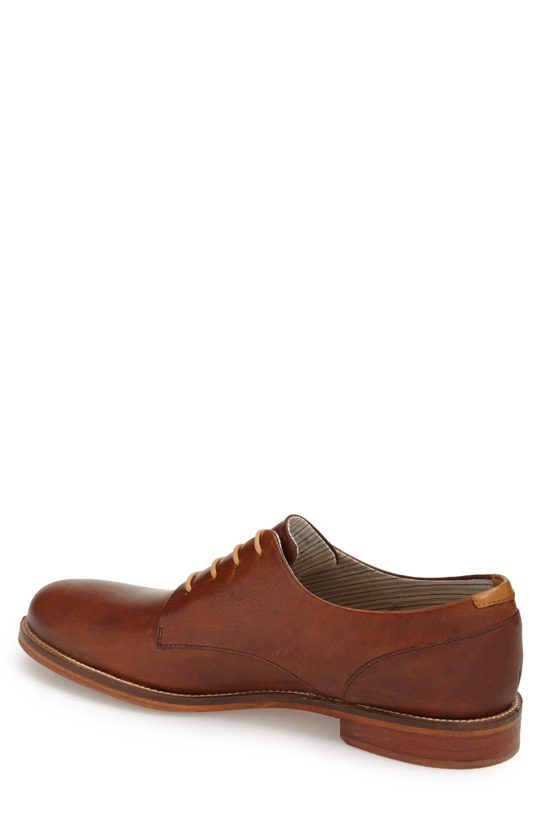 Alternate Image 2  - J SHOES 'William Plus' Plain Toe Derby (Men)