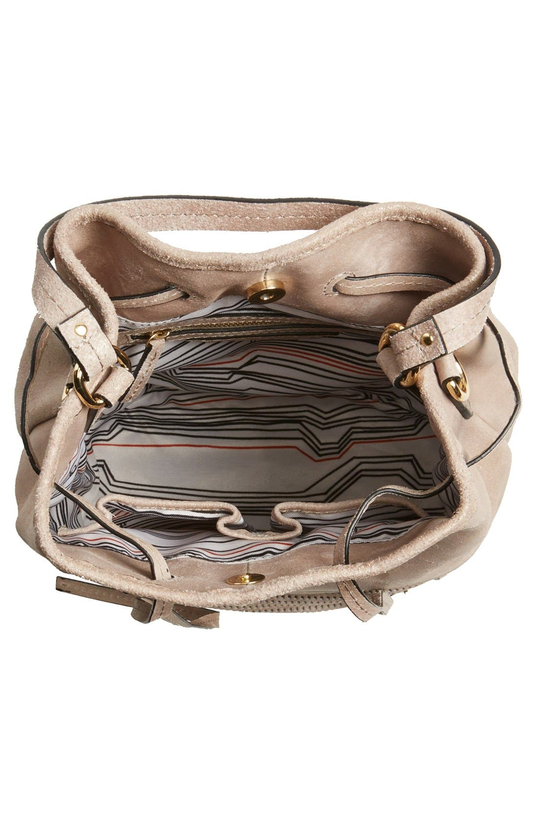 Alternate Image 3  - She + Lo 'Silver Lining' Drawstring Shoulder Bag