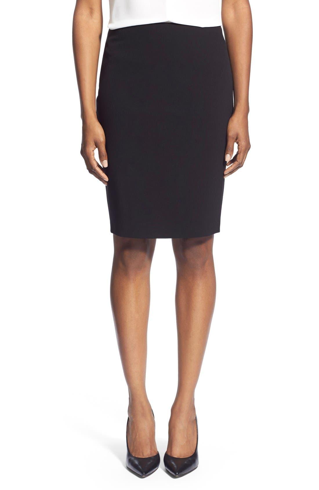 Suit Skirt,                             Main thumbnail 1, color,                             Black