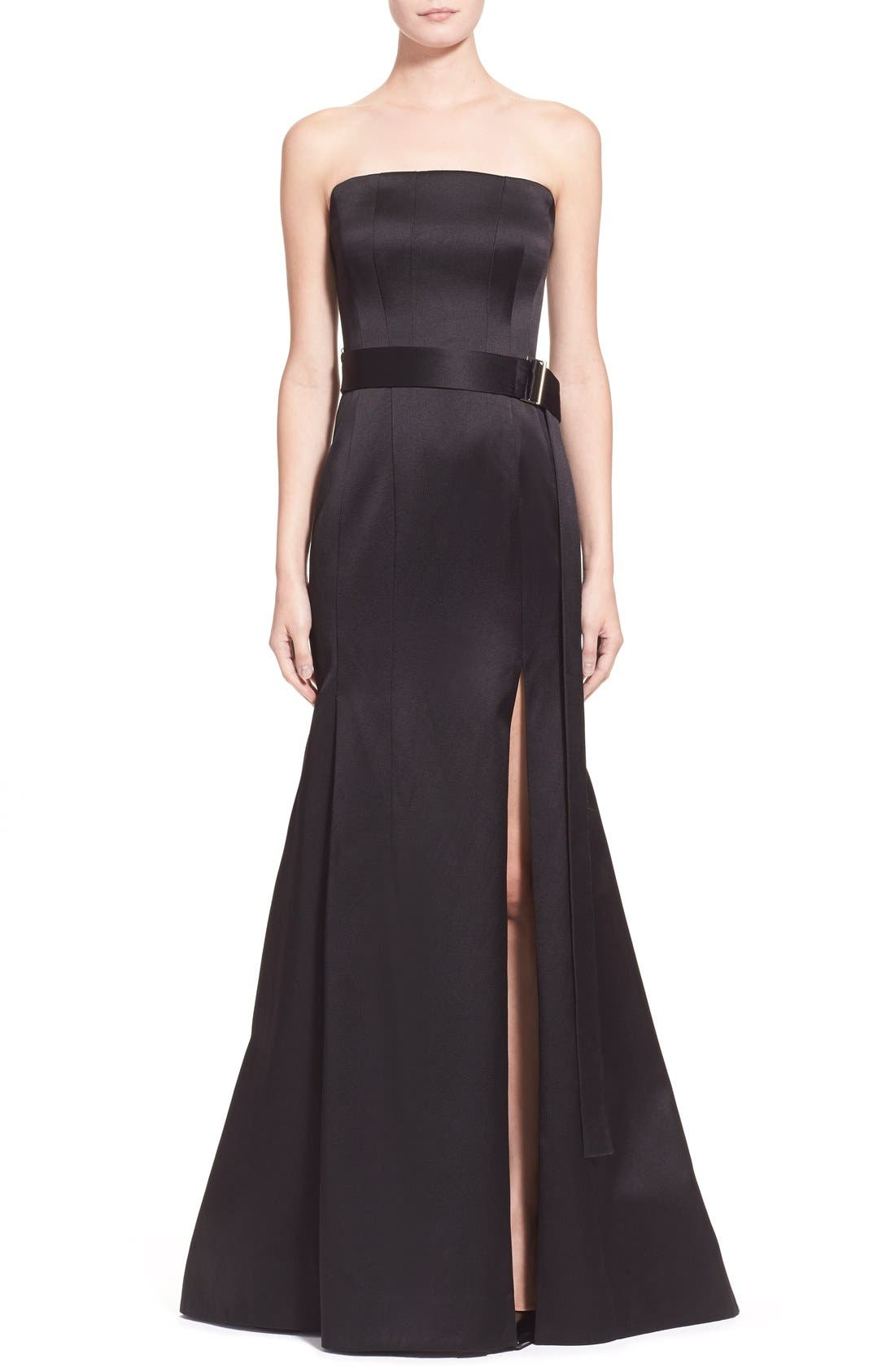Alternate Image 1 Selected - Jason Wu 'Reese' Strapless Satin Twill Gown