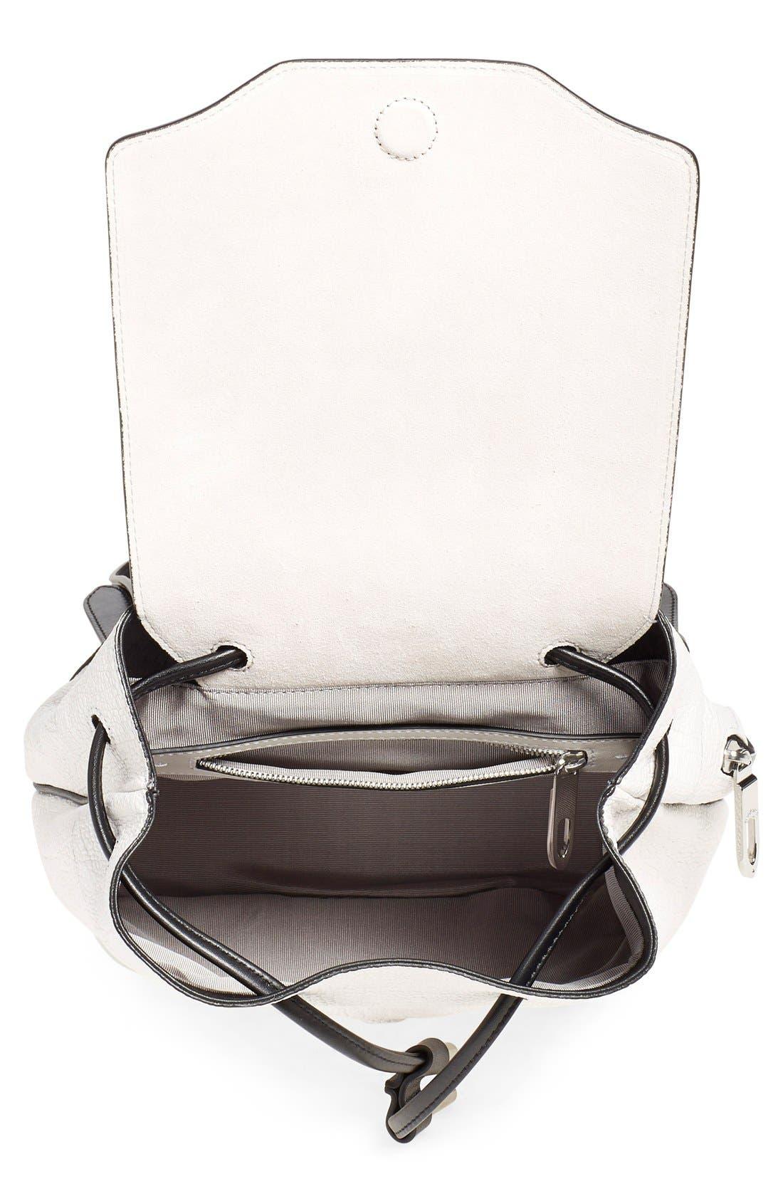 Alternate Image 3  - rag & bone 'Mini Pilot' Leather Backpack