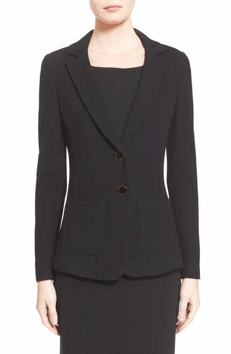 St. John Collection Milano Piqué Knit Jacket by ST. JOHN COLLECTION