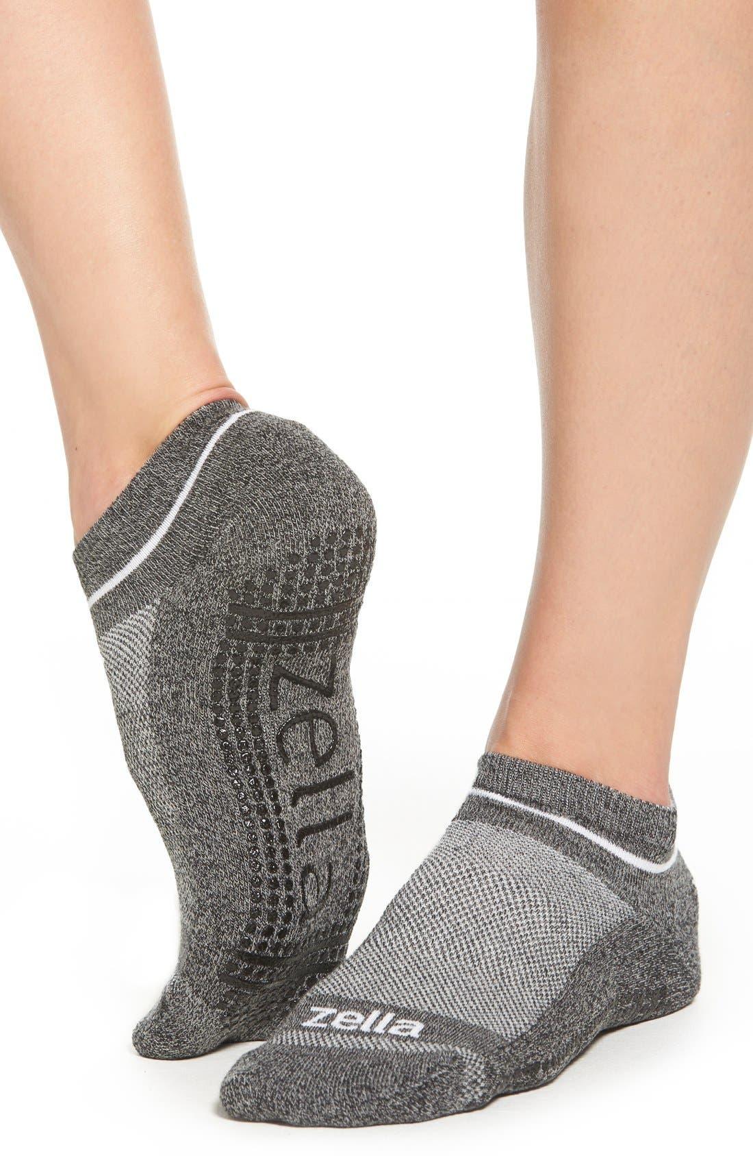 Alternate Image 1 Selected - Zella Athletic Socks