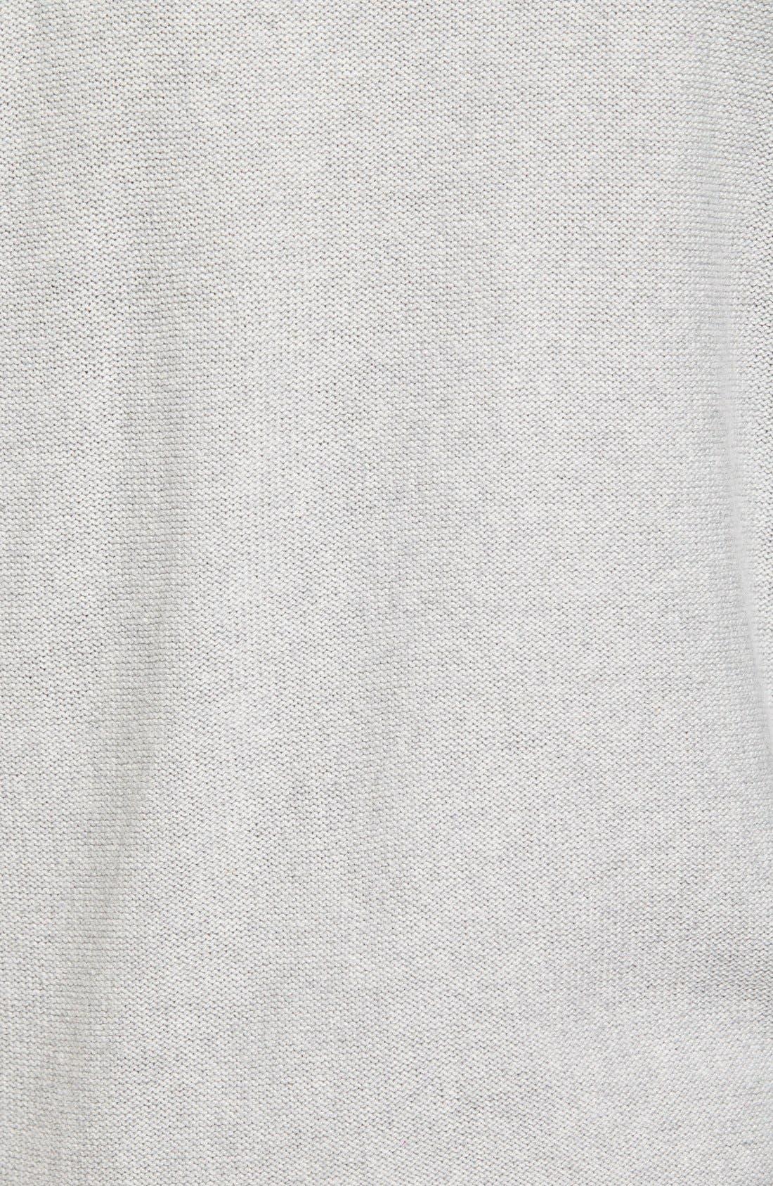 Alternate Image 5  - Caslon® Contrast Cuff Crewneck Sweater (Regular & Petite)