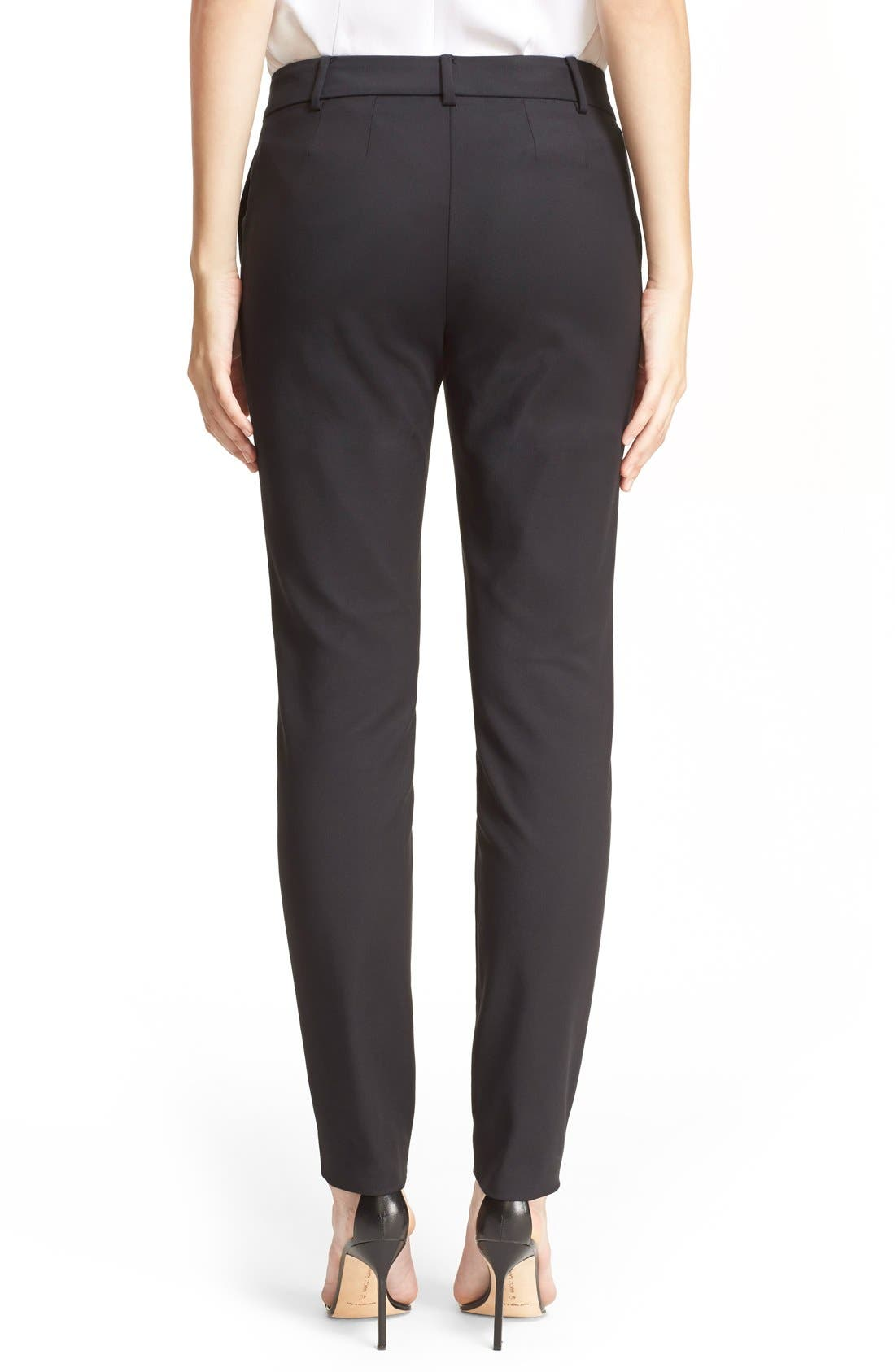 Alternate Image 2  - St. John Collection 'Jennifer' Stretch Micro Ottoman Ankle Pants