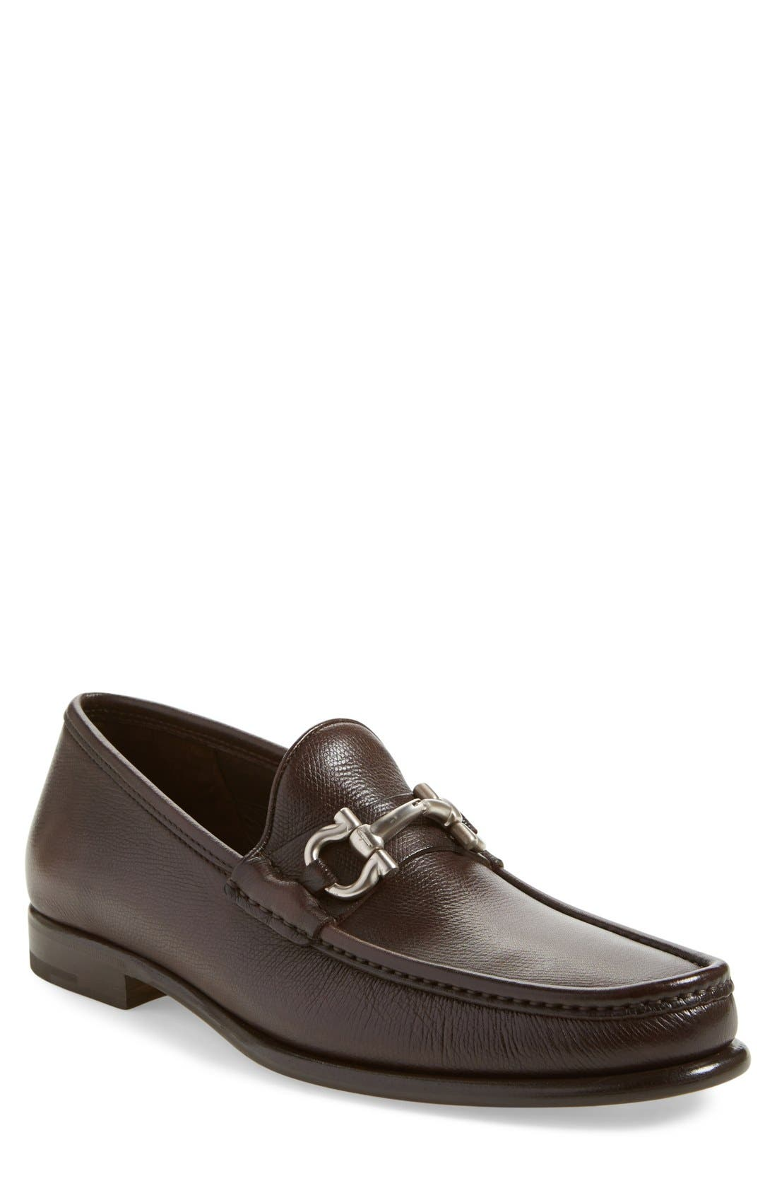 Salvatore Ferragamo Mason Bit Loafer (Men)