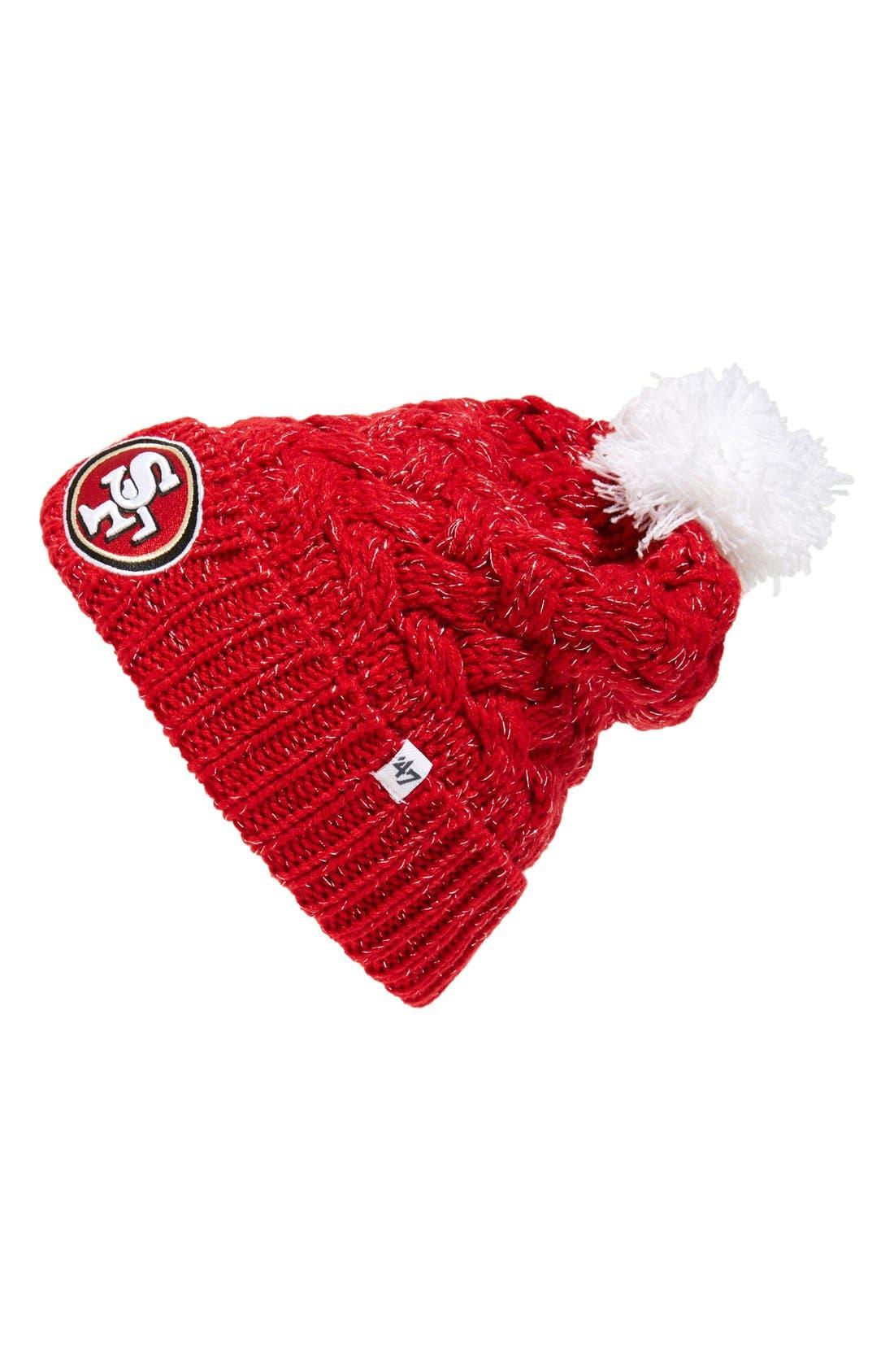 47 47 Brand San Francisco 49ers Pom Beanie