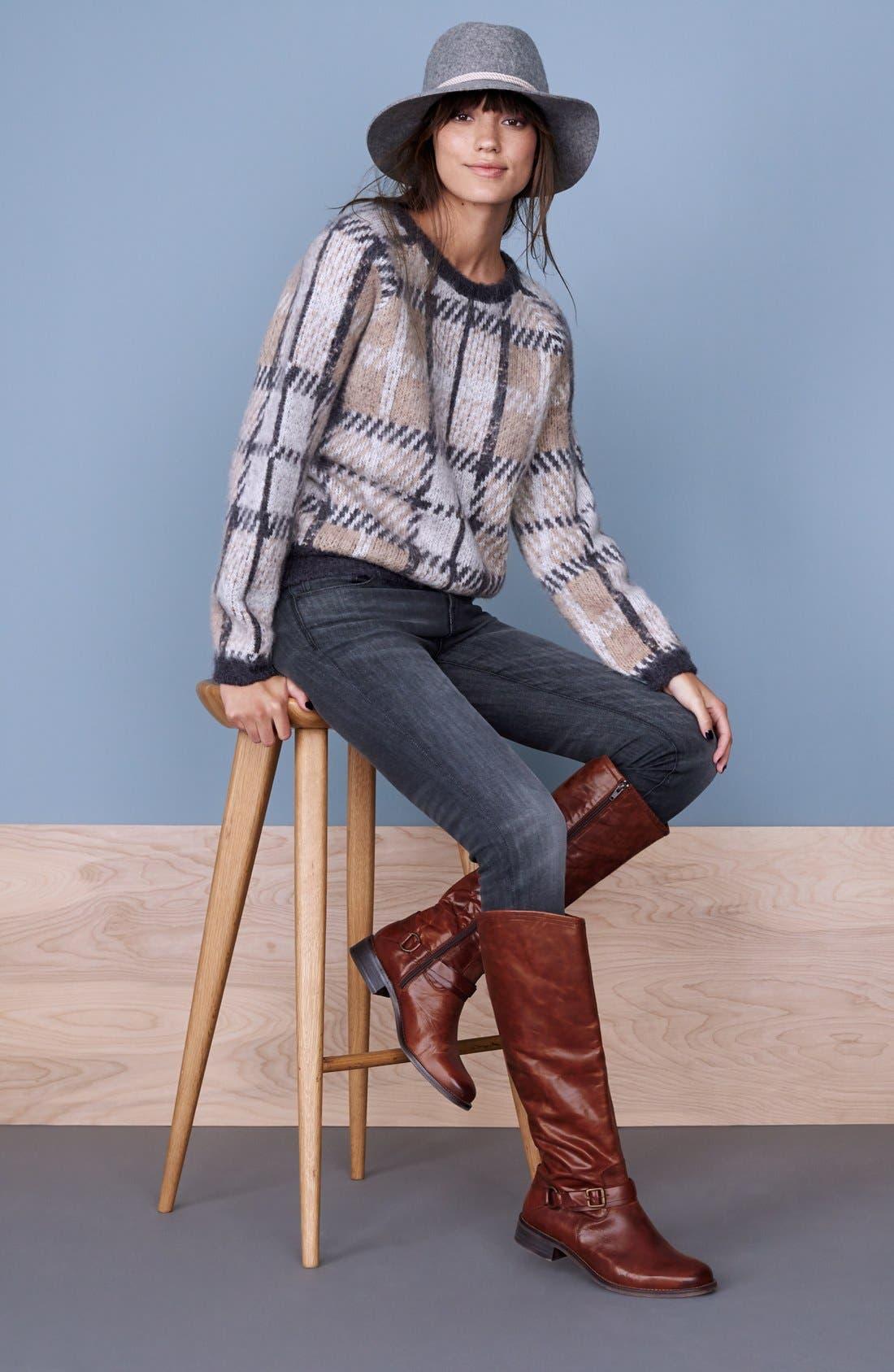 Alternate Image 6  - Hinge 'Dakotah' Knee High Riding Boot (Women)