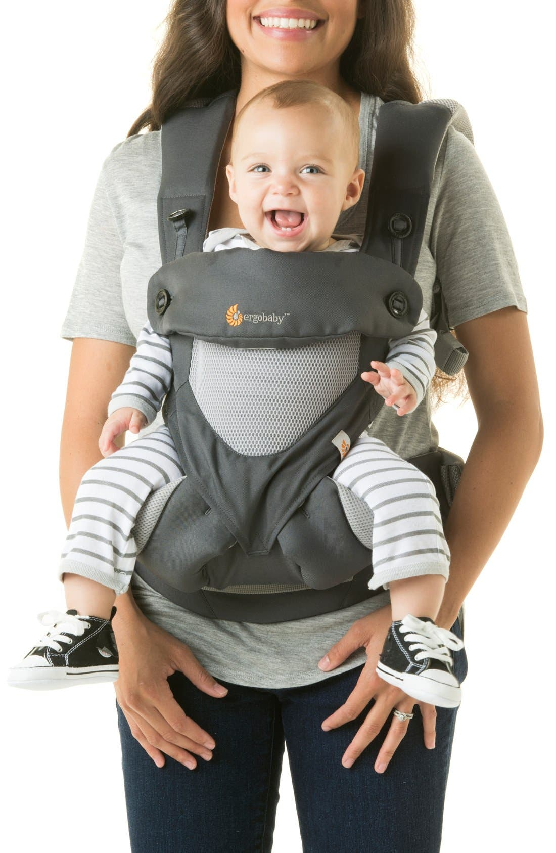 Alternate Image 2  - ERGObaby 'Four Position 360 - Cool Air' Baby Carrier