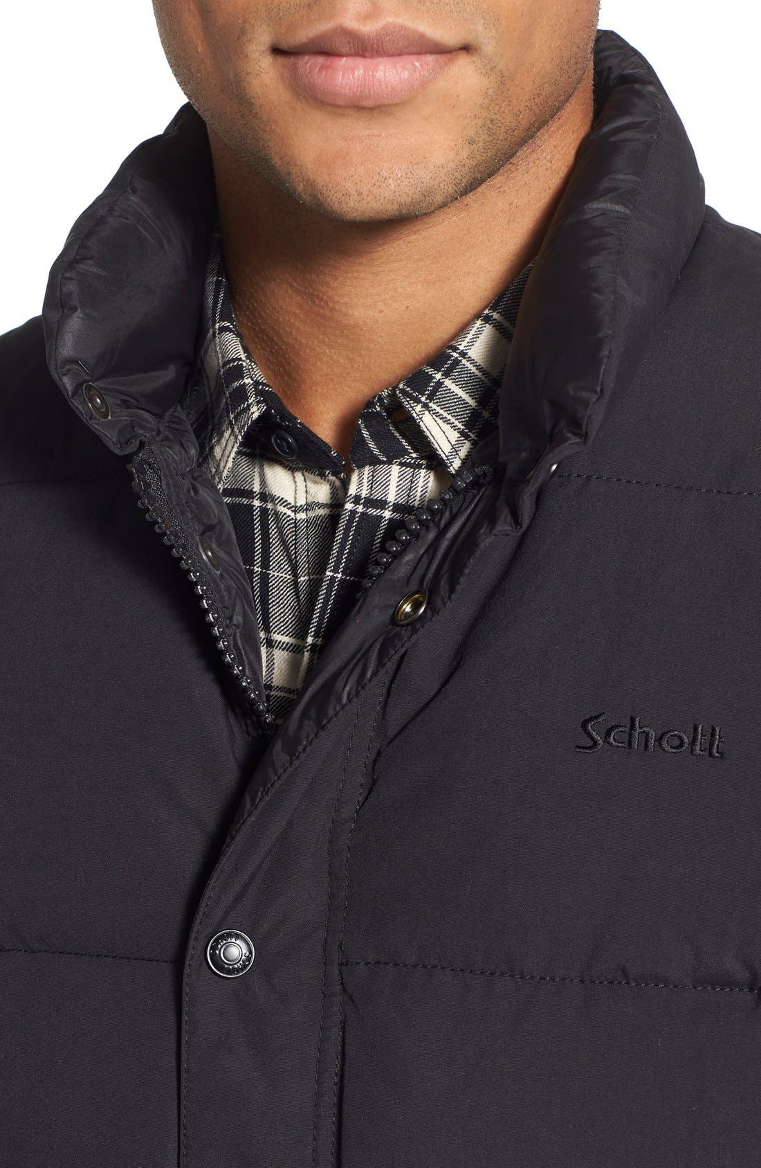 Alternate Image 4  - Schott NYC Waterproof Down Vest
