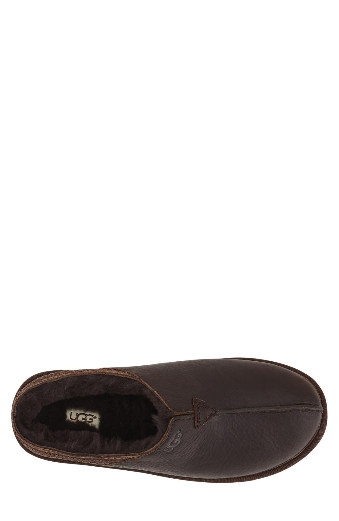 Alternate Image 3  - UGG® Neuman Slipper (Men)