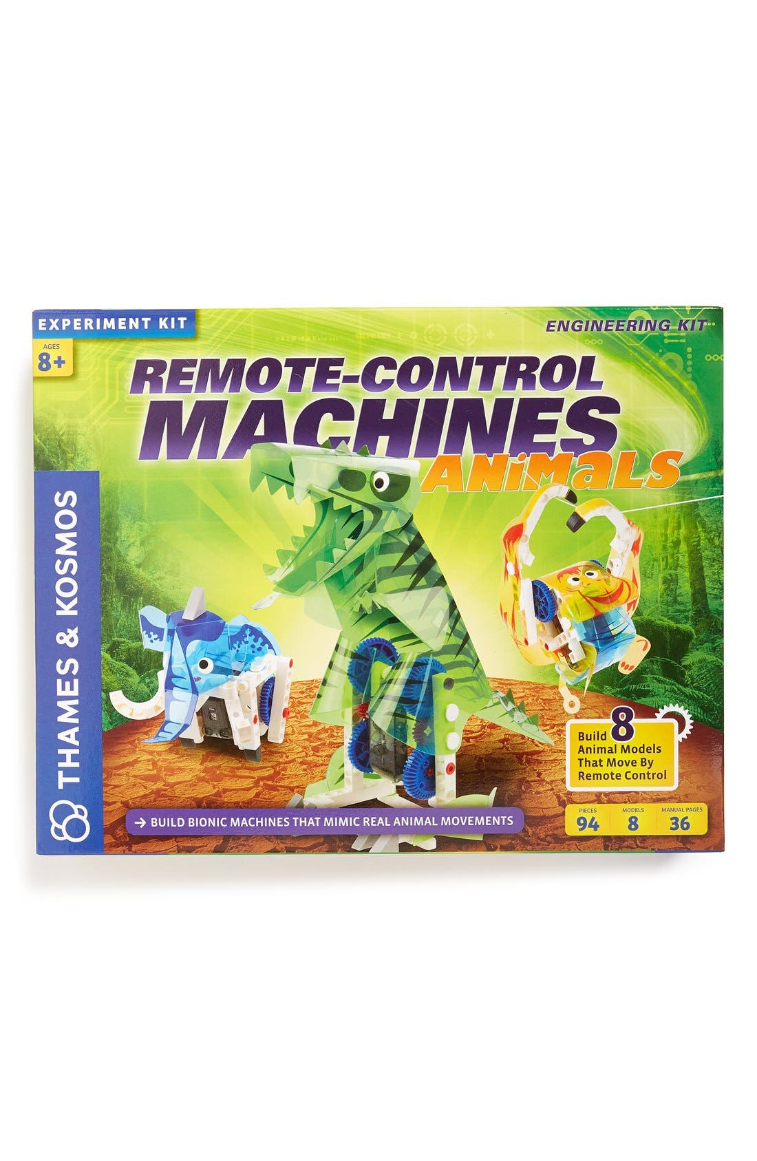 'Remote-Control Machines - Animals' Kit,                         Main,                         color, Multi