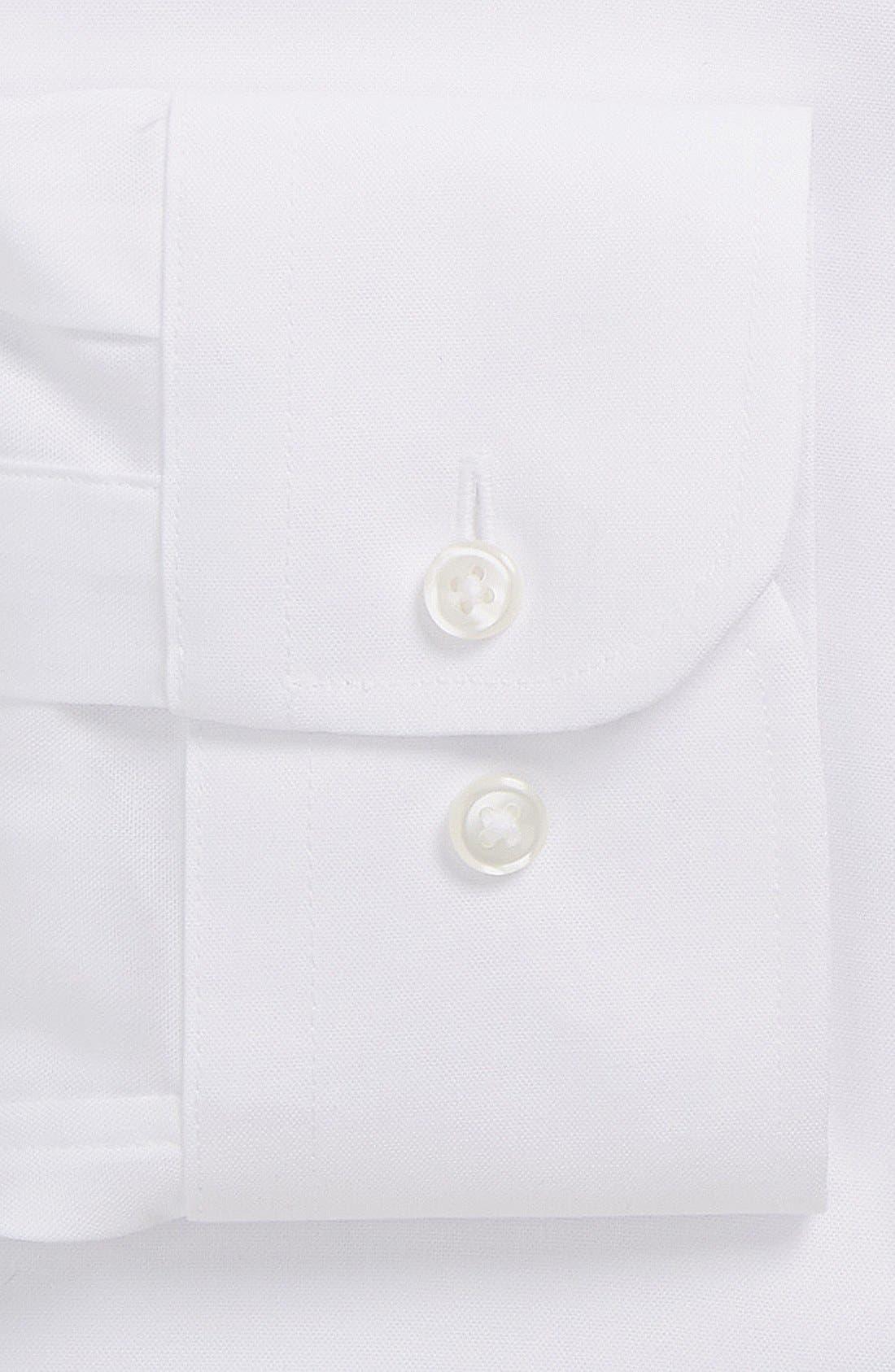 Alternate Image 3  - Nordstrom Men's Shop Trim Fit Non-Iron Dress Shirt