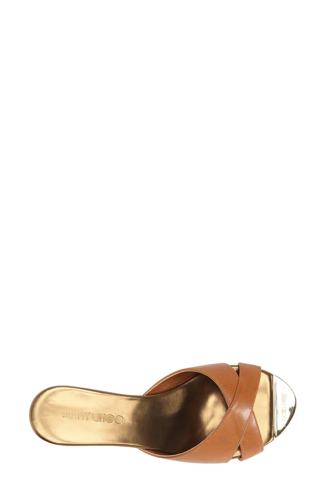 Alternate Image 3  - Jimmy Choo 'Prima' Cork Platform Sandal