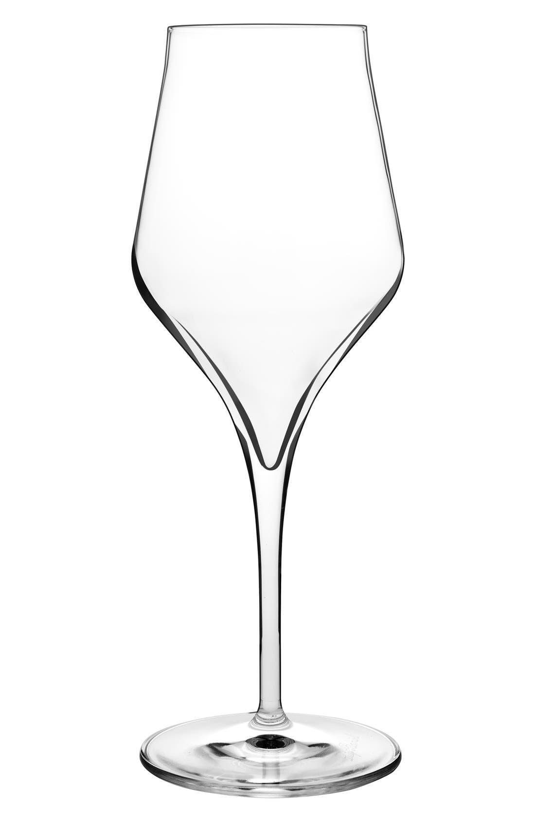 Supremo Set of 2 Chardonnay Glasses,                             Main thumbnail 1, color,                             Clear