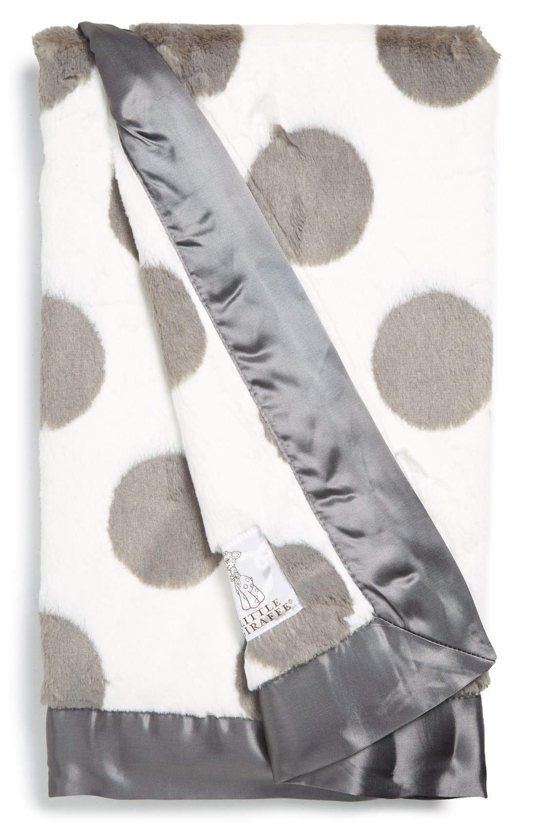 Luxe Spot<sup>™</sup> Blanket,                         Main,                         color, Charcoal