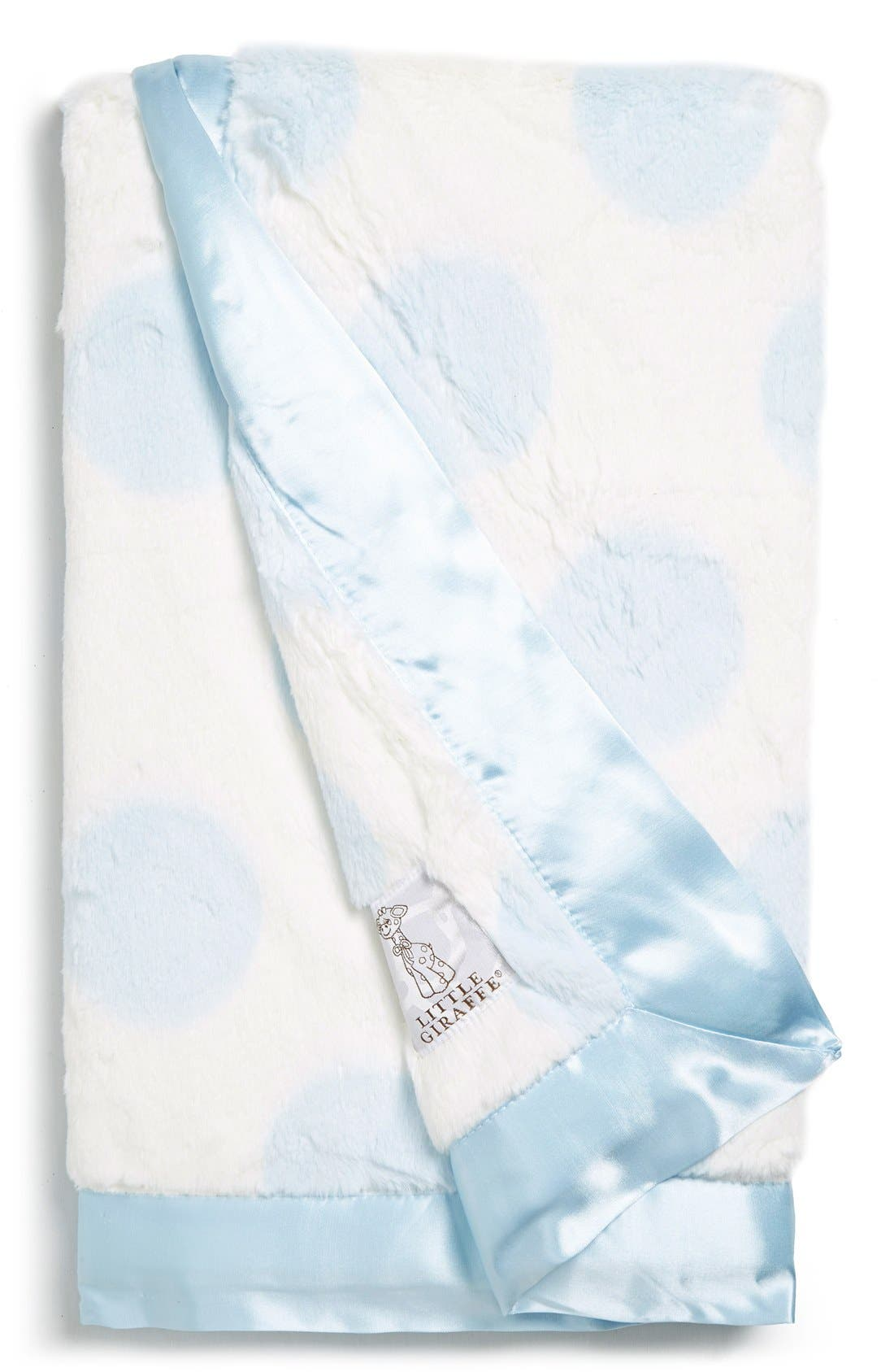 Luxe Spot<sup>™</sup> Blanket,                             Main thumbnail 1, color,                             Blue