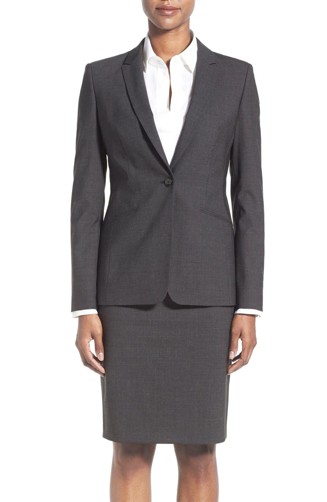 Sale alerts for  Jabina Tropical Stretch Wool Jacket - Covvet