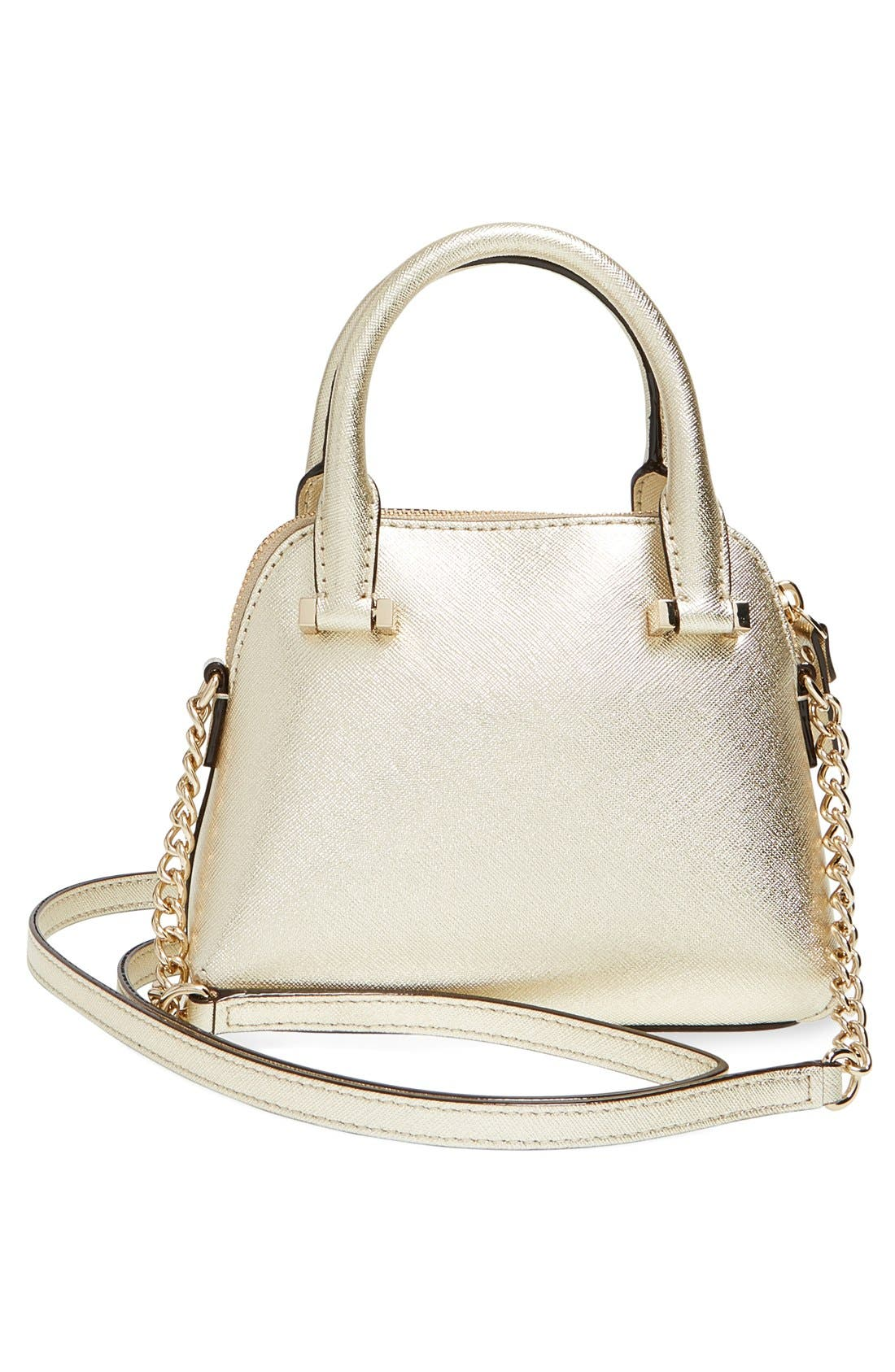 Alternate Image 3  - kate spade new york 'cedar street - mini maise' metallic leather crossbody bag
