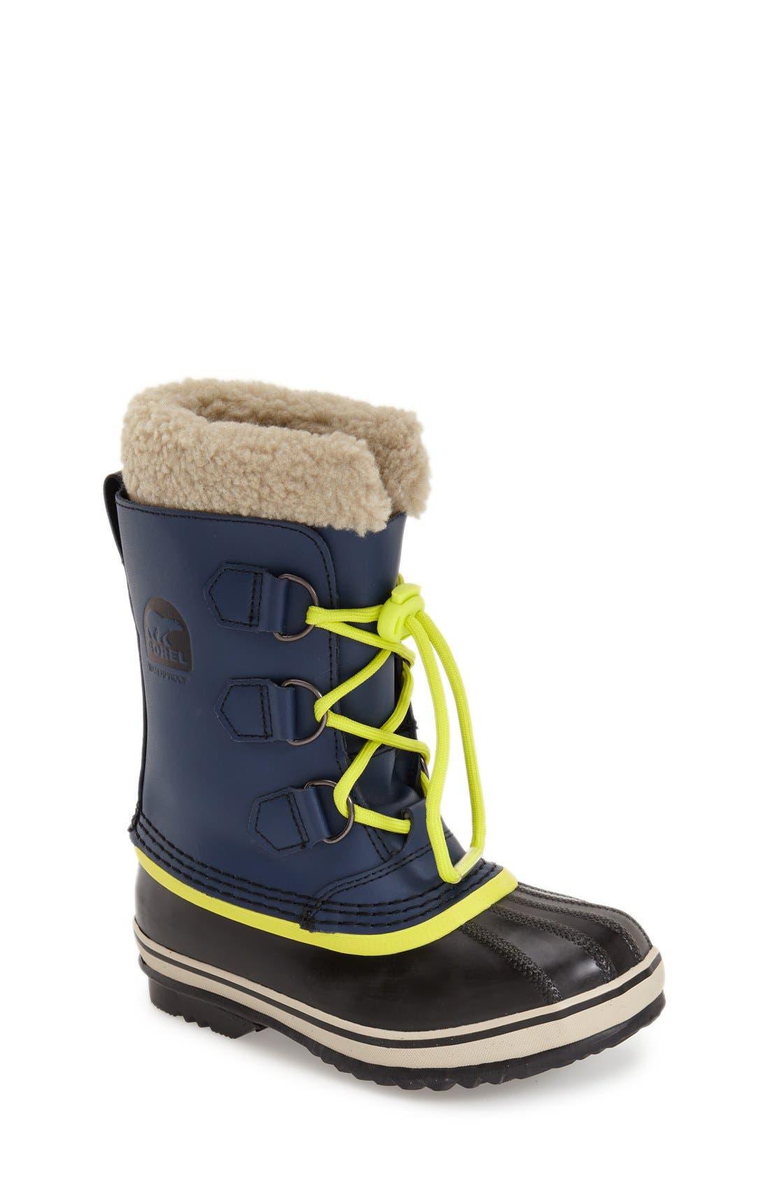 Alternate Image 1 Selected - SOREL 'Yoot Pac' Waterproof Snow Boot (Toddler, Little Kid & Big Kid)